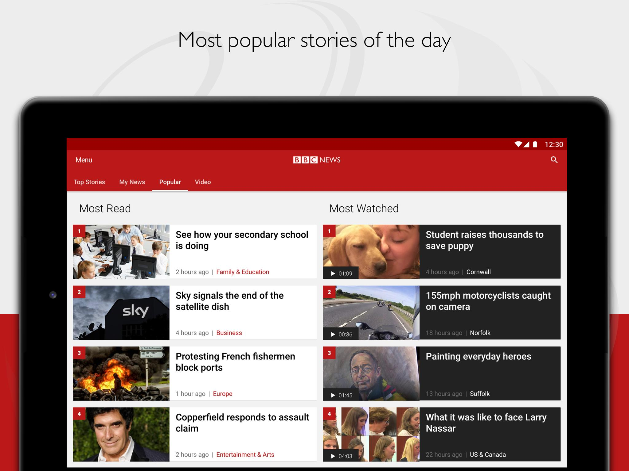 BBC News 5.8.0 Screenshot 14