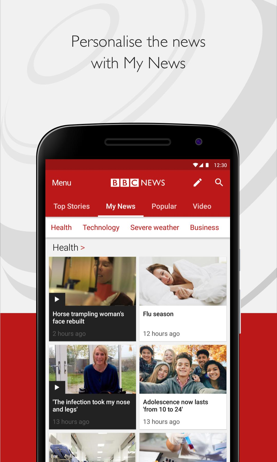 BBC News 5.8.0 Screenshot 2