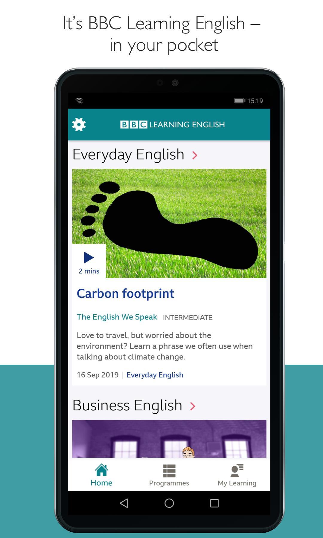 BBC Learning English 1.2.1 Screenshot 1