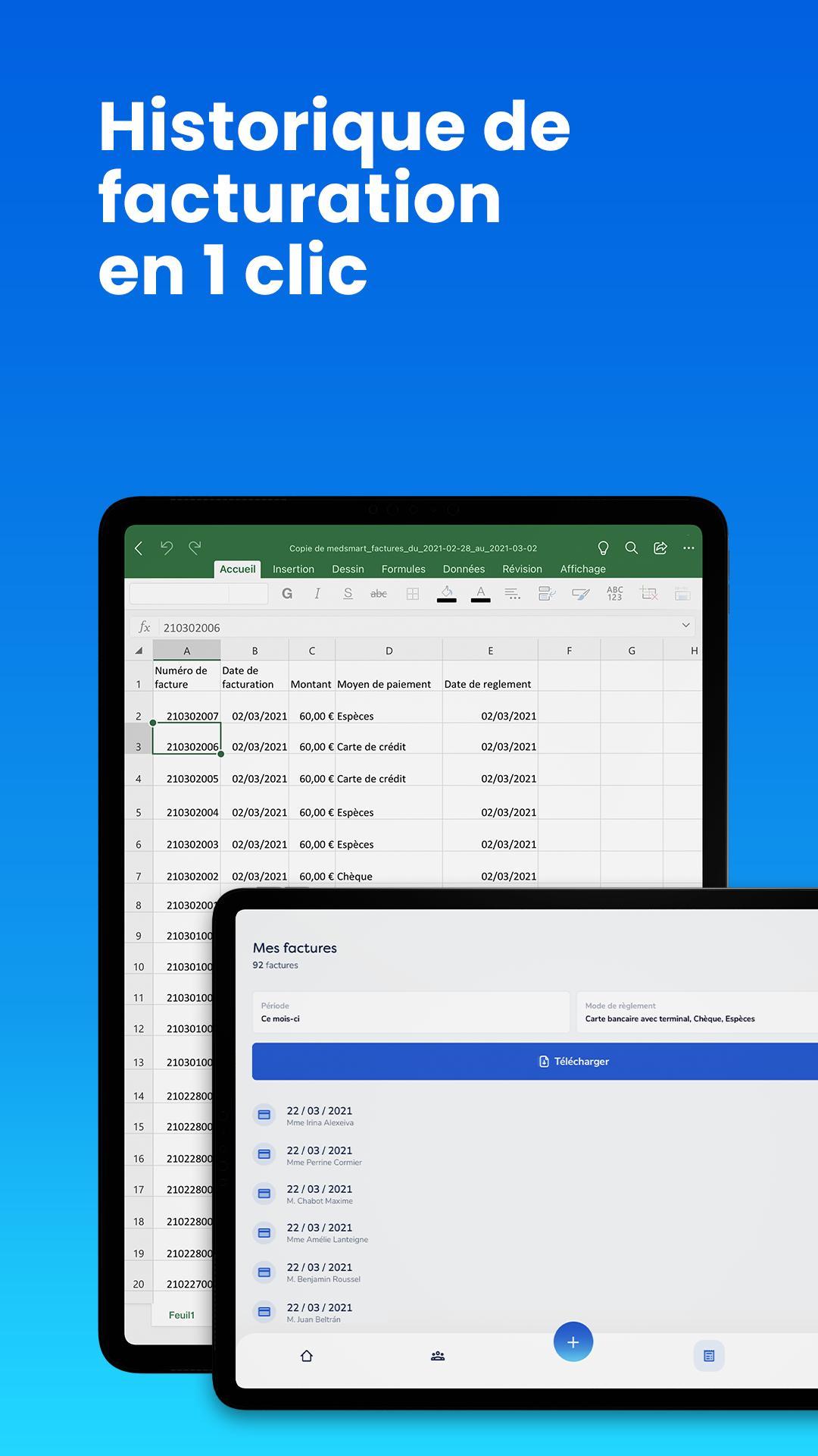 MedSmart Gestion de cabinet simplifiée 1.4 Screenshot 15