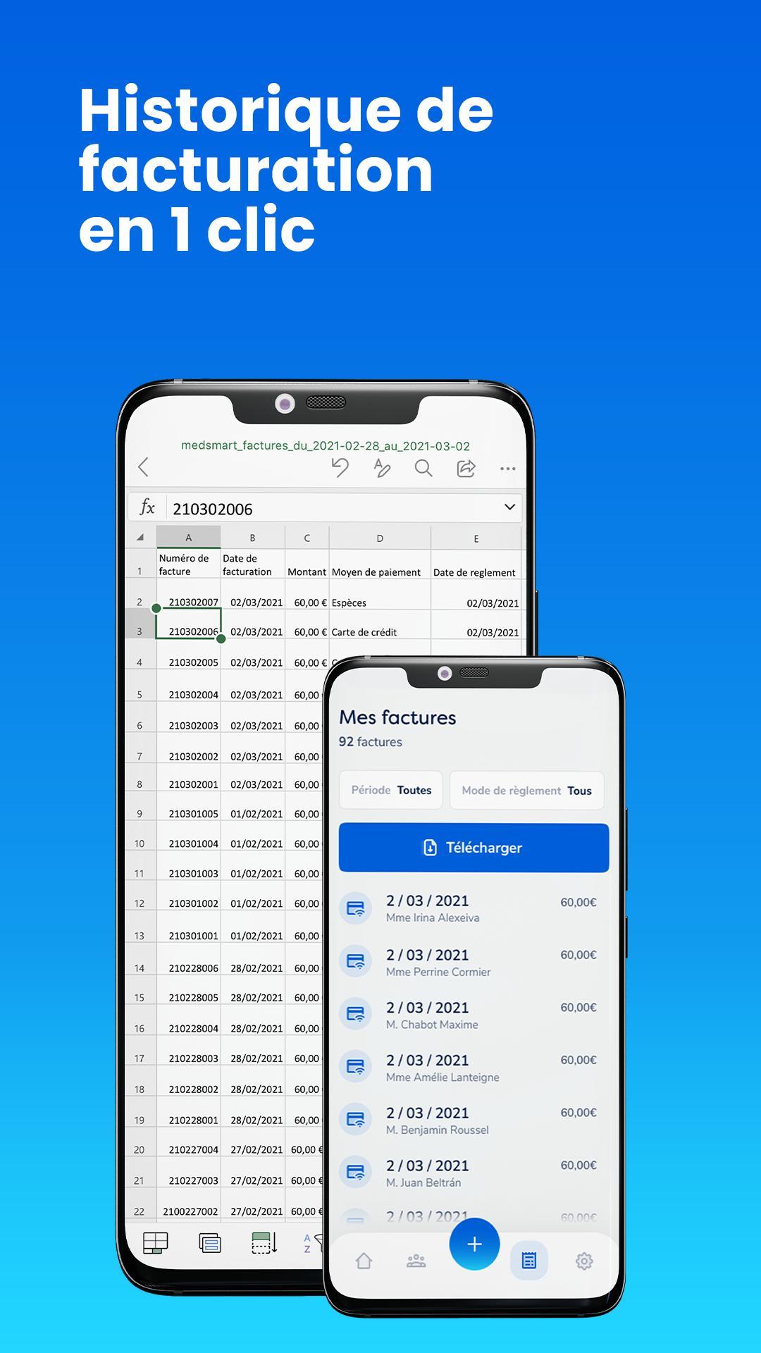 MedSmart Gestion de cabinet simplifiée 1.4 Screenshot 5