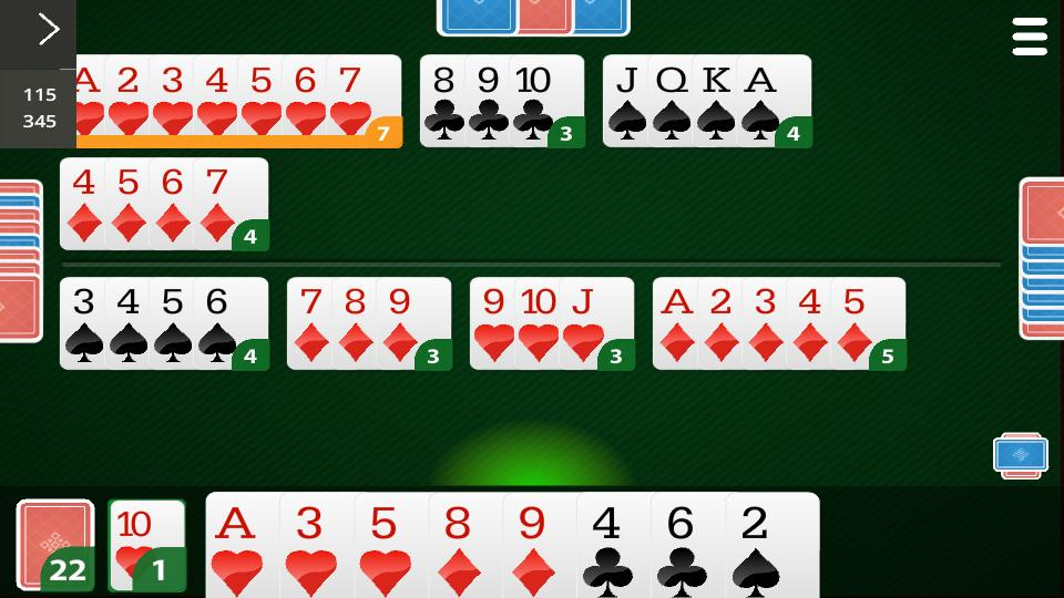 Canasta Online 99.1.23 Screenshot 2