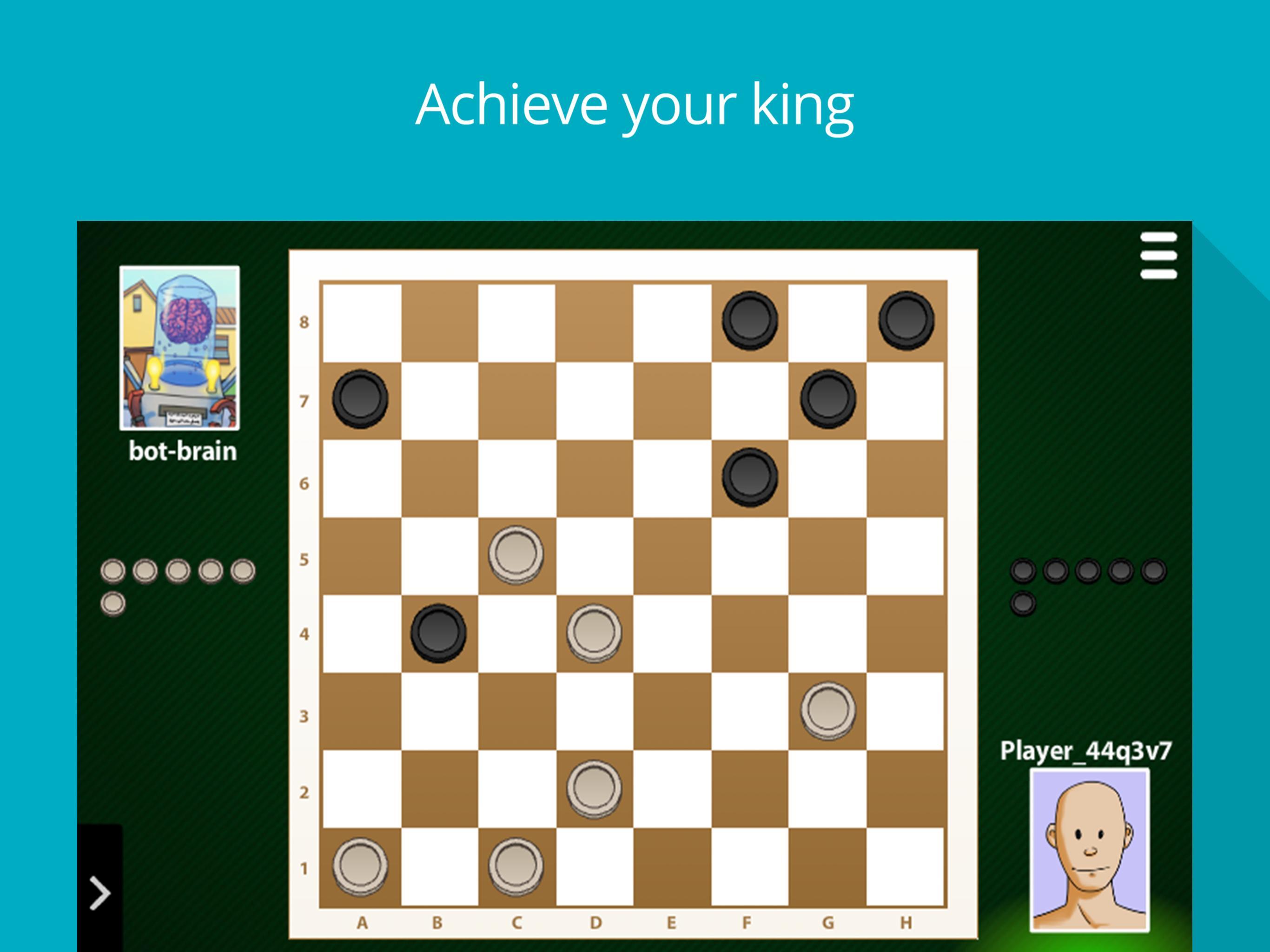 Checkers Online: Classic board game 99.1.23 Screenshot 5