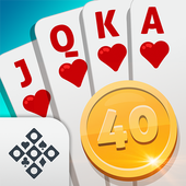 Scala 40 Online - Free Card Game app icon