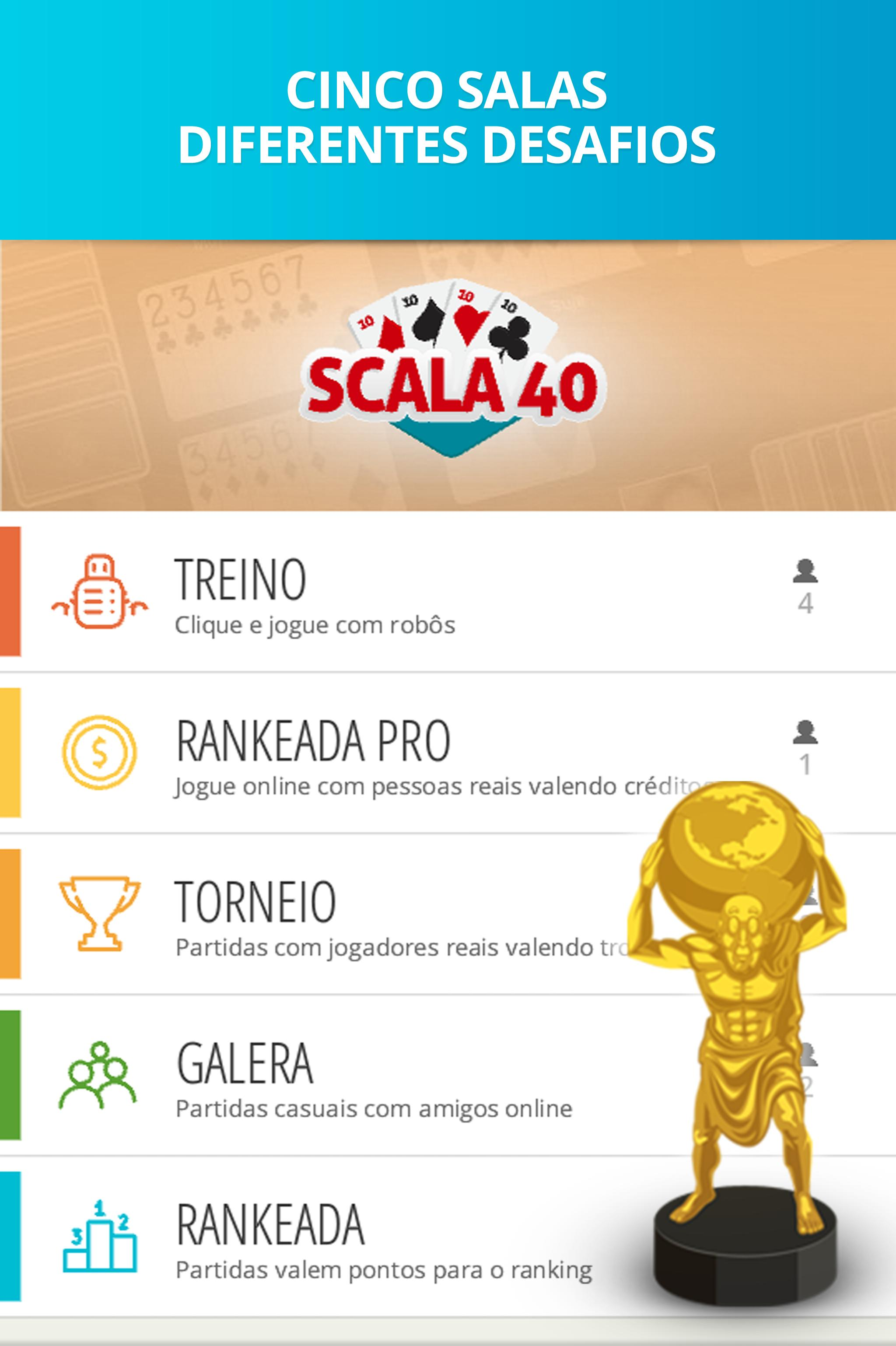 Scala 40 Online - Free Card Game 99.1.23 Screenshot 3