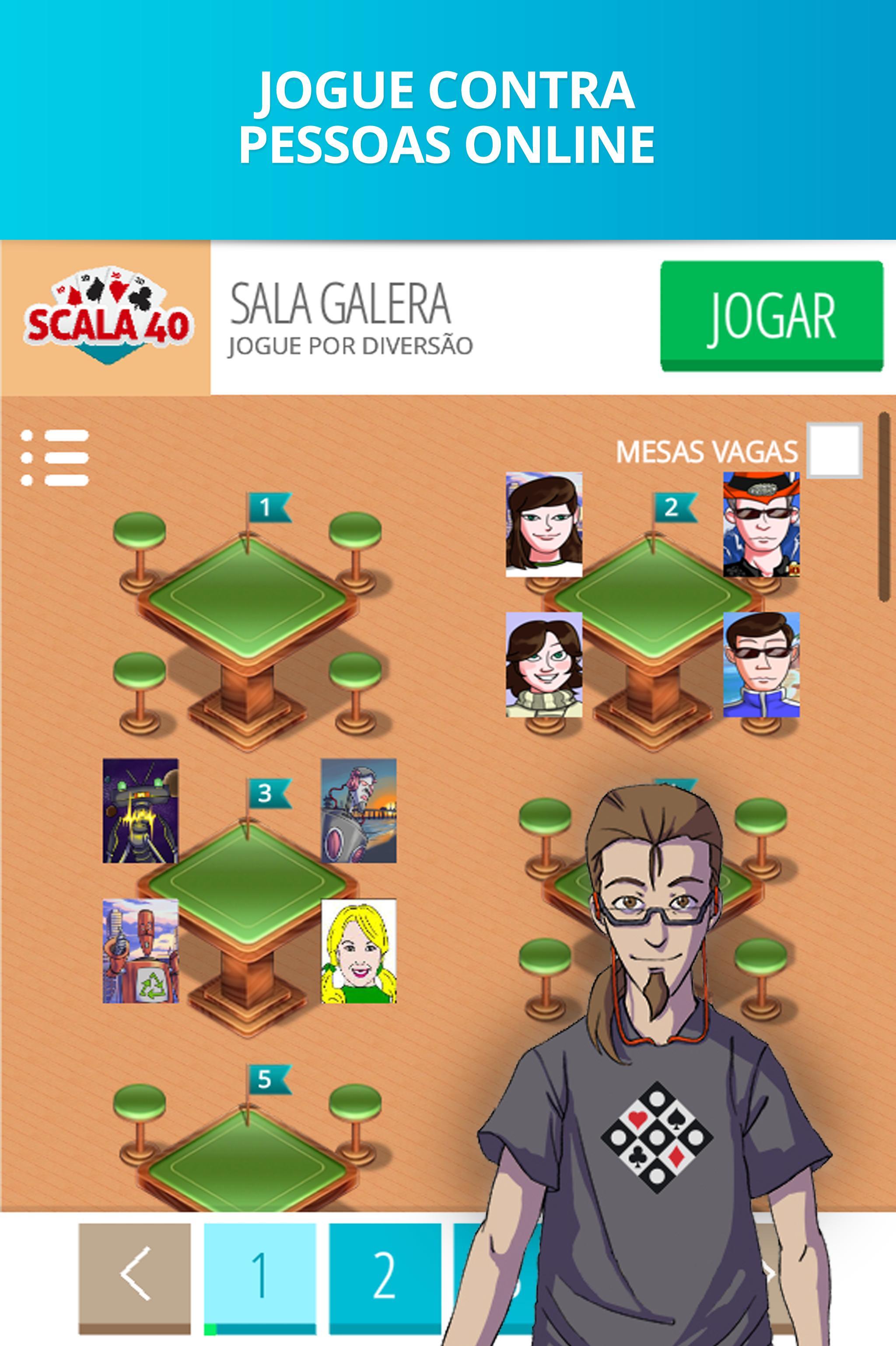 Scala 40 Online - Free Card Game 99.1.23 Screenshot 5