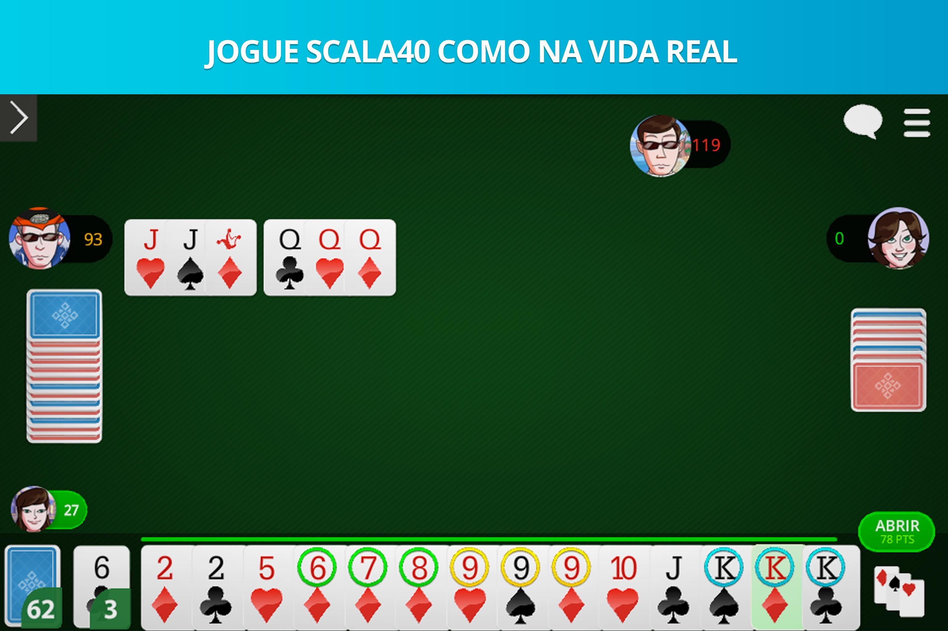 Scala 40 Online - Free Card Game 99.1.23 Screenshot 6