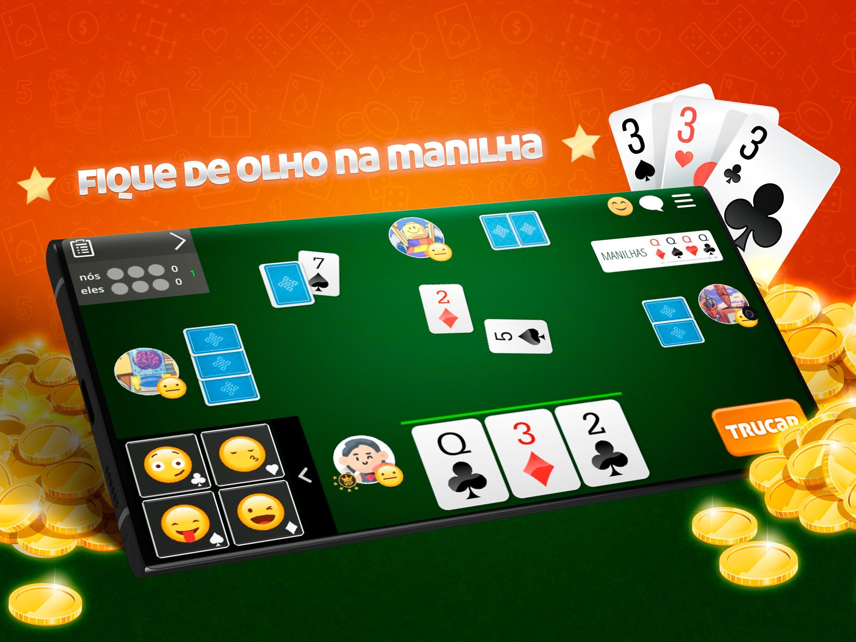 Truco Online Paulista e Mineiro 99.1.23 Screenshot 10