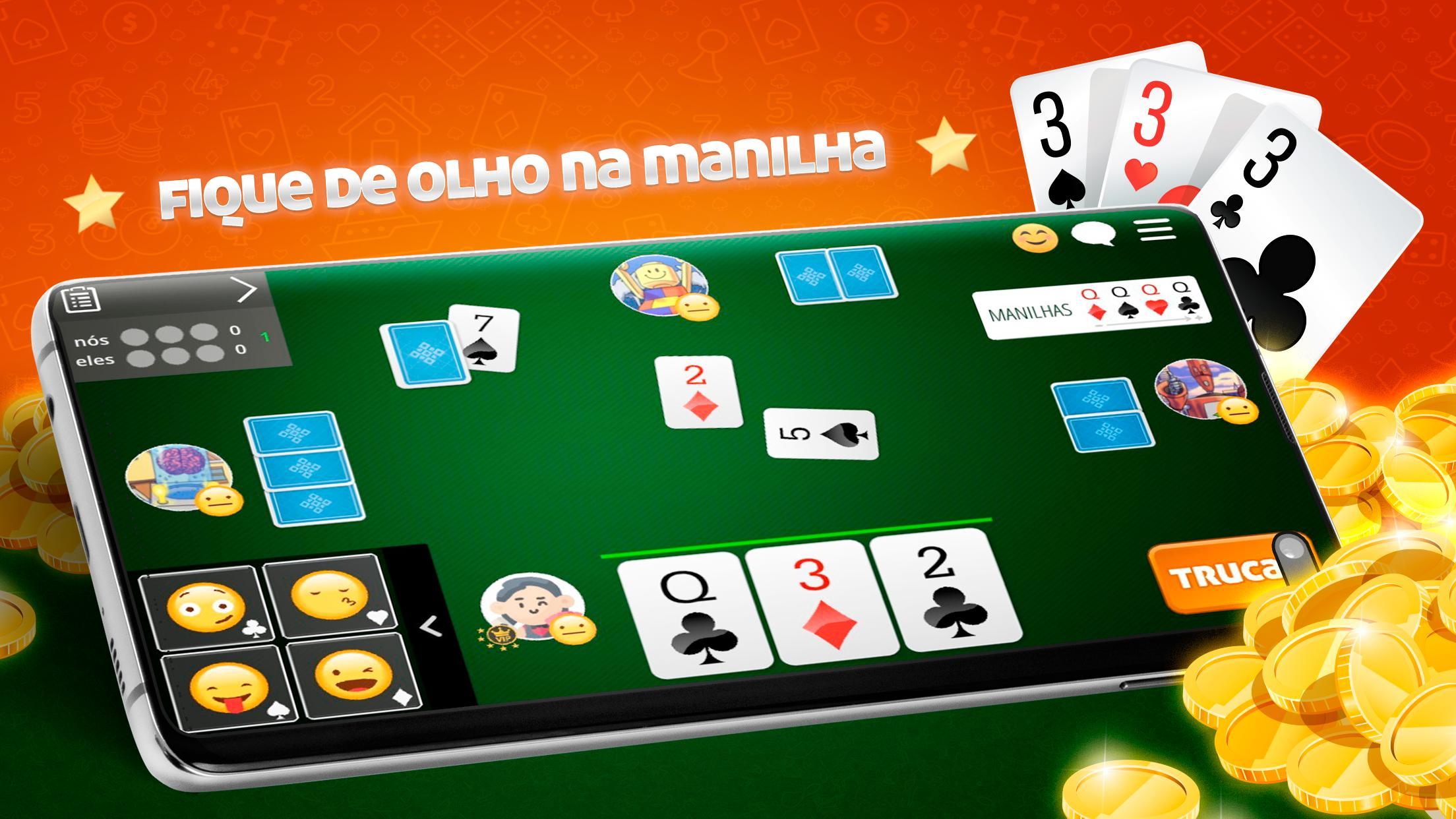 Truco Online Paulista e Mineiro 99.1.23 Screenshot 4