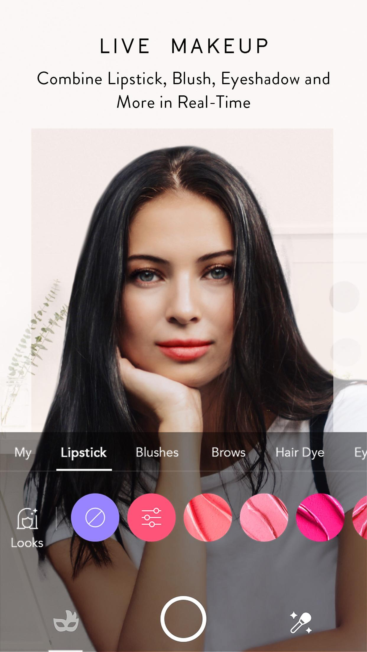 MakeupPlus Your Own Virtual Makeup Artist 5.3.27 Screenshot 1