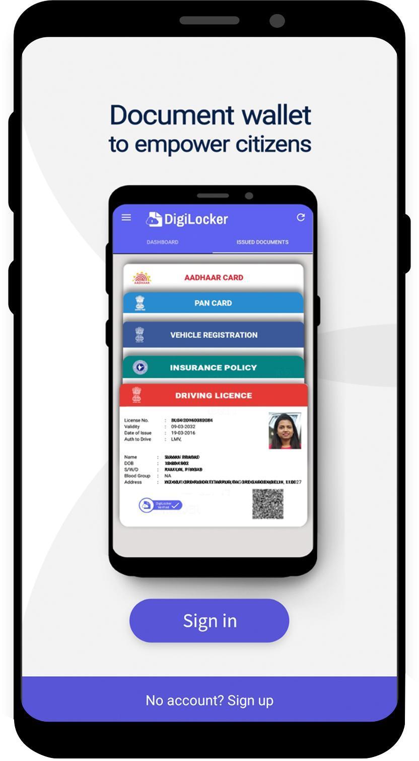 DigiLocker 6.0.2 Screenshot 1