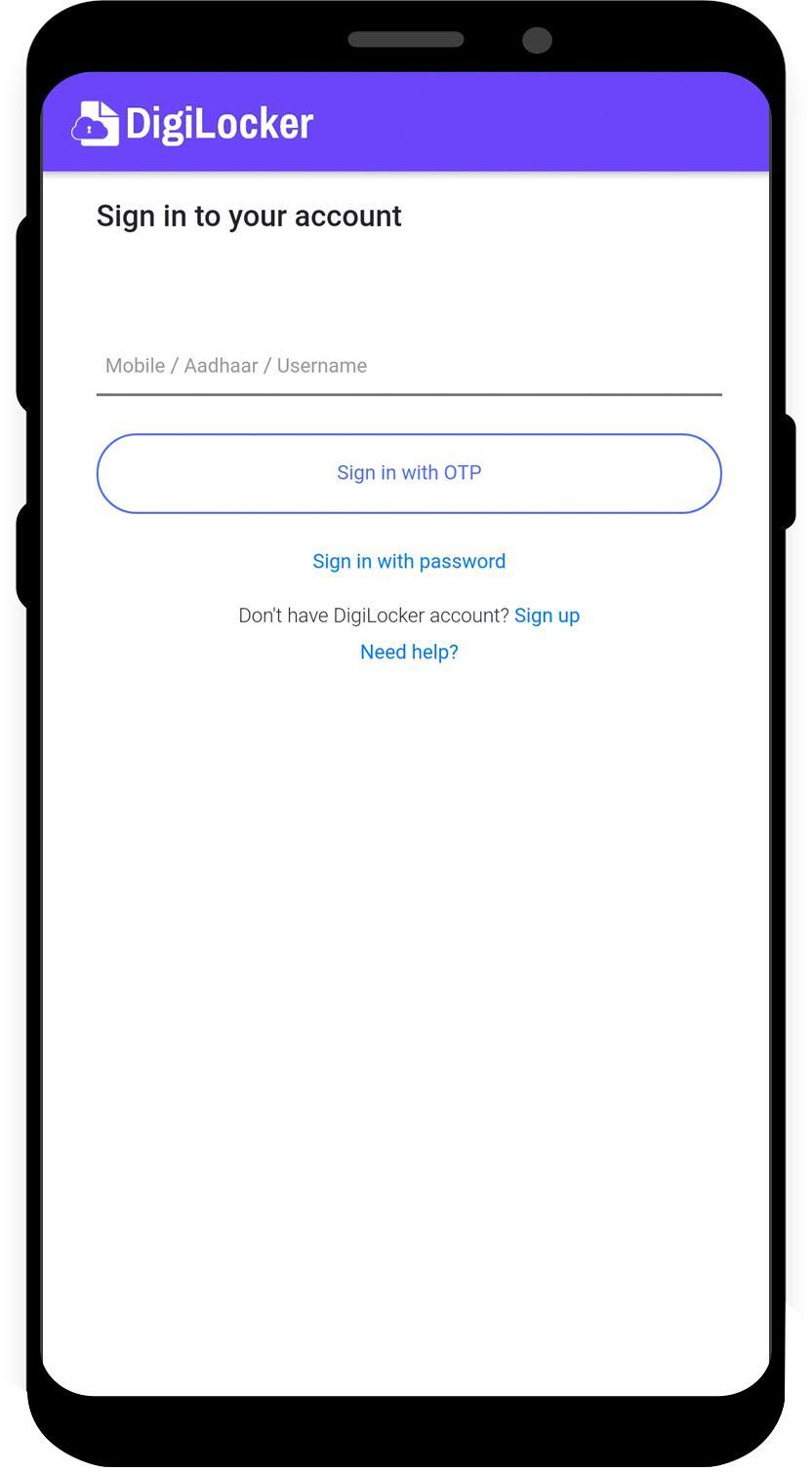 DigiLocker 6.0.2 Screenshot 2