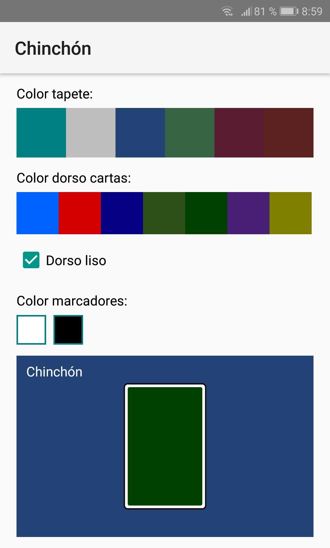 Chinchón 1.7 Screenshot 12