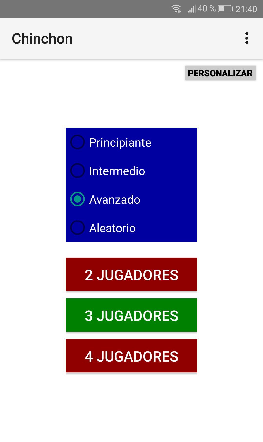 Chinchón 1.7 Screenshot 3
