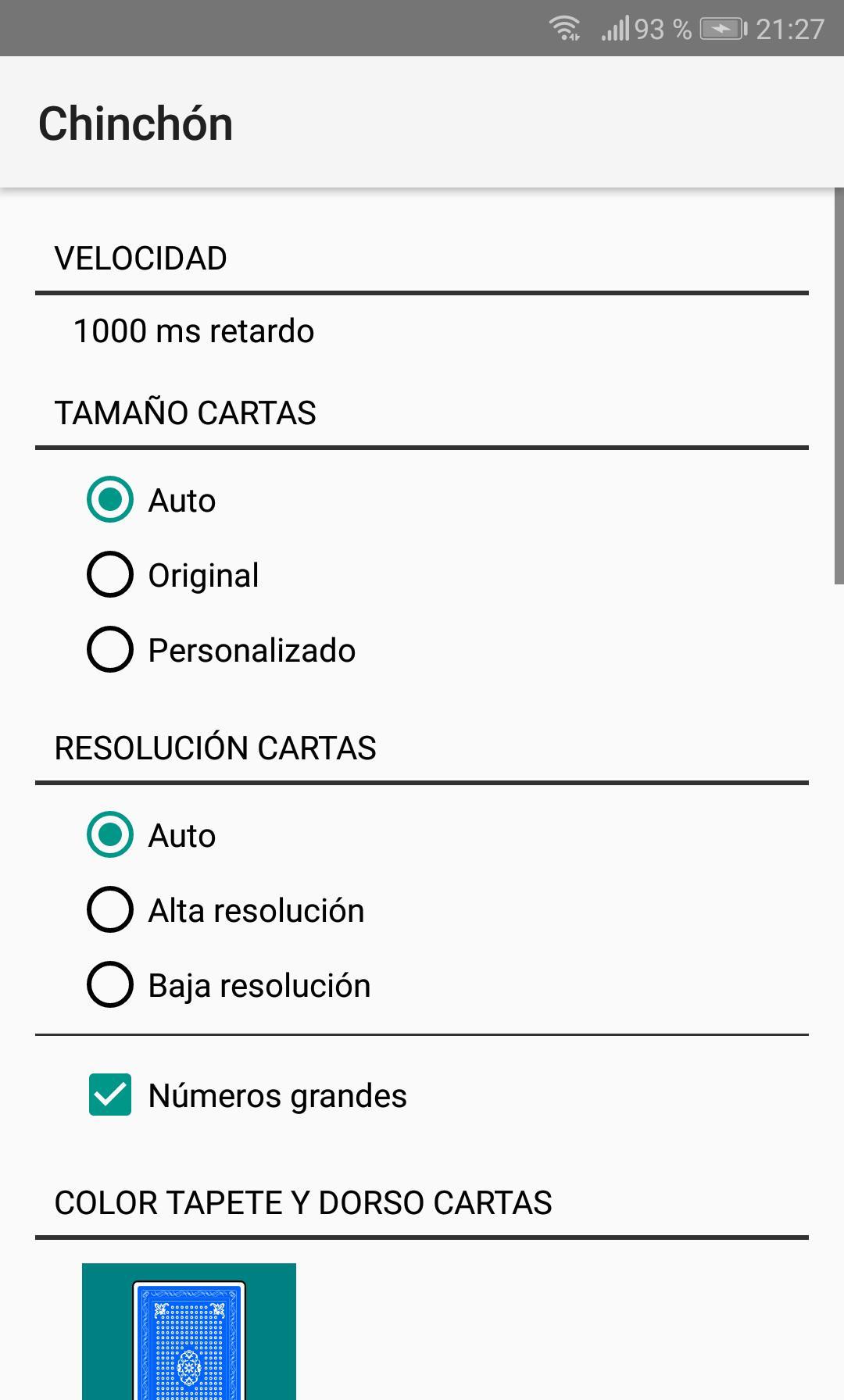 Chinchón 1.7 Screenshot 6