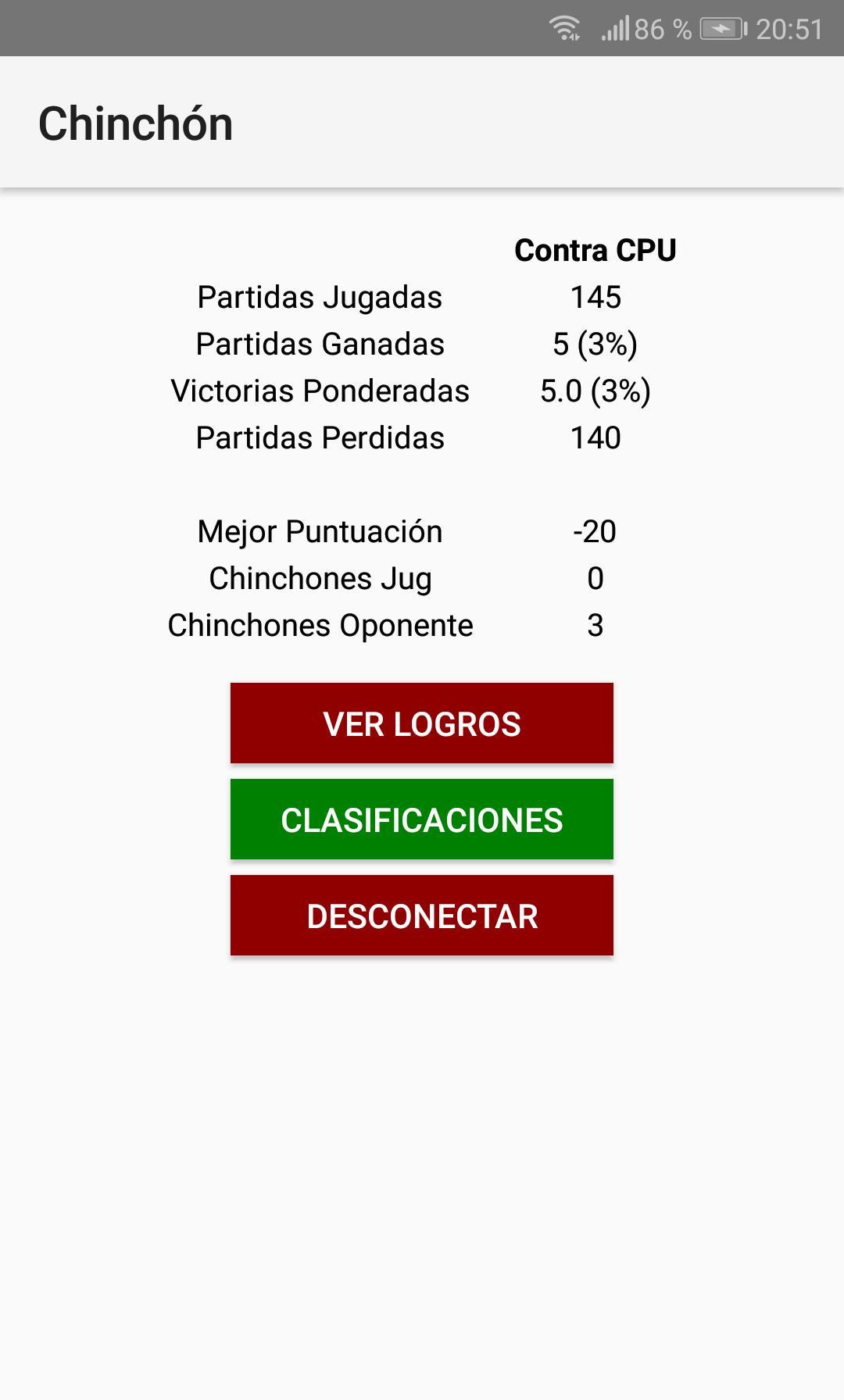Chinchón 1.7 Screenshot 7