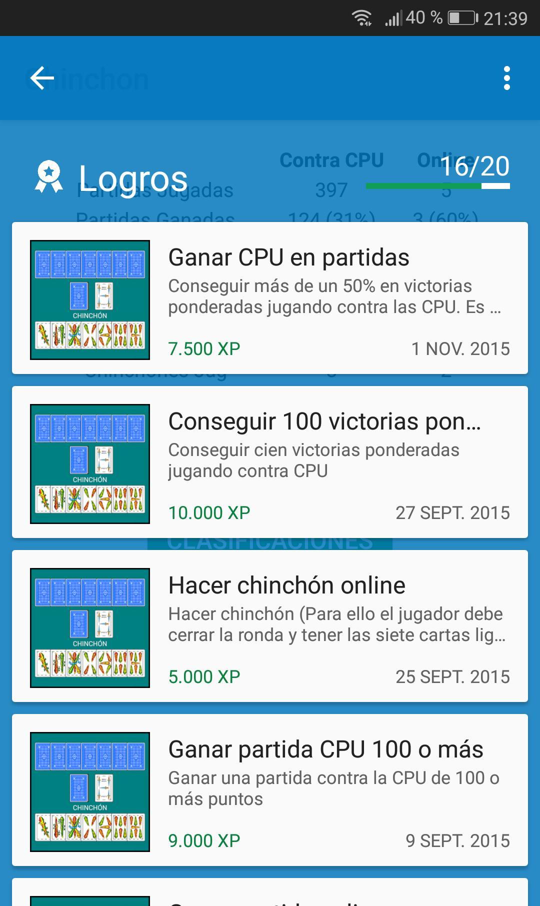 Chinchón 1.7 Screenshot 8