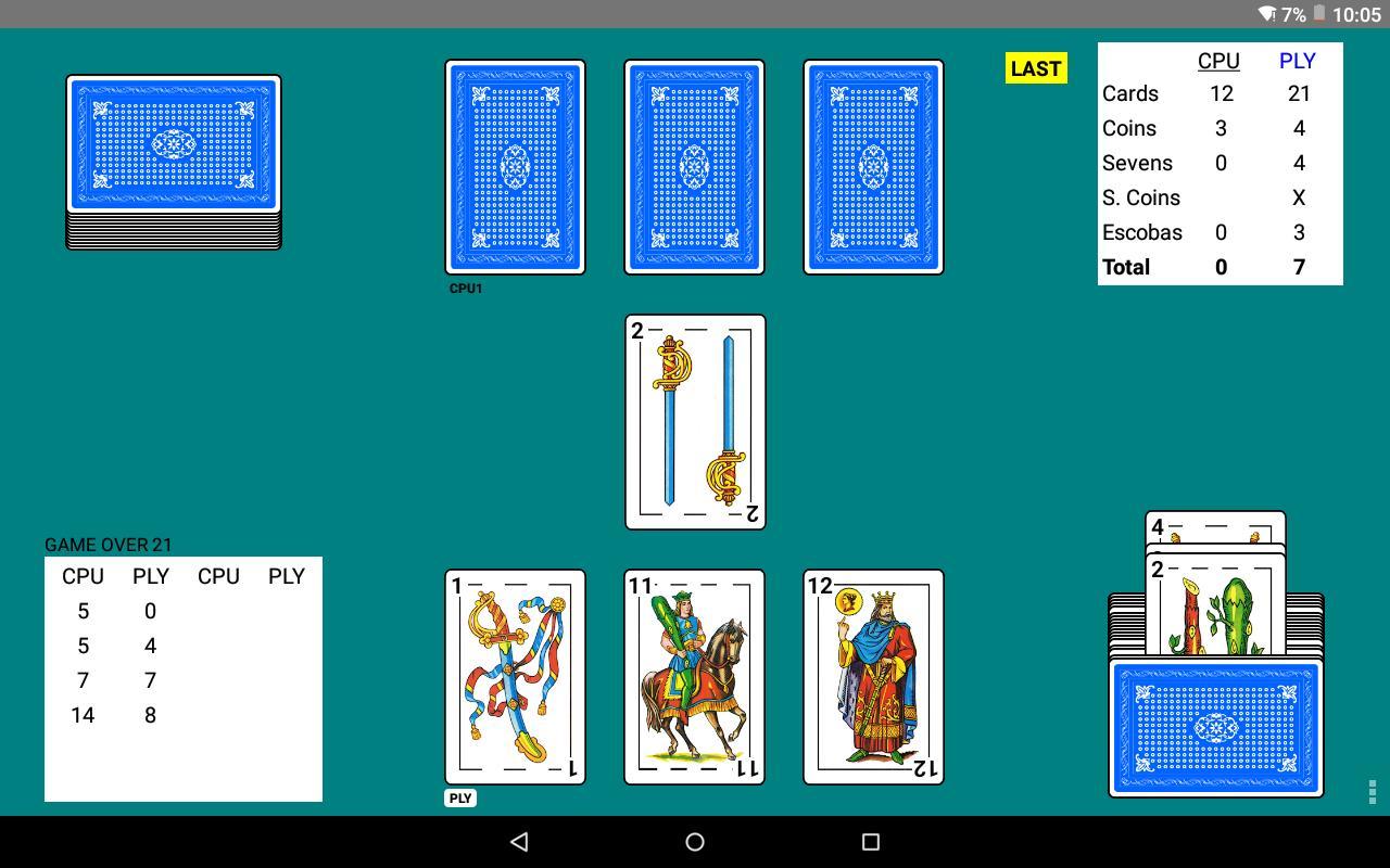 Escoba 2.204 Screenshot 10