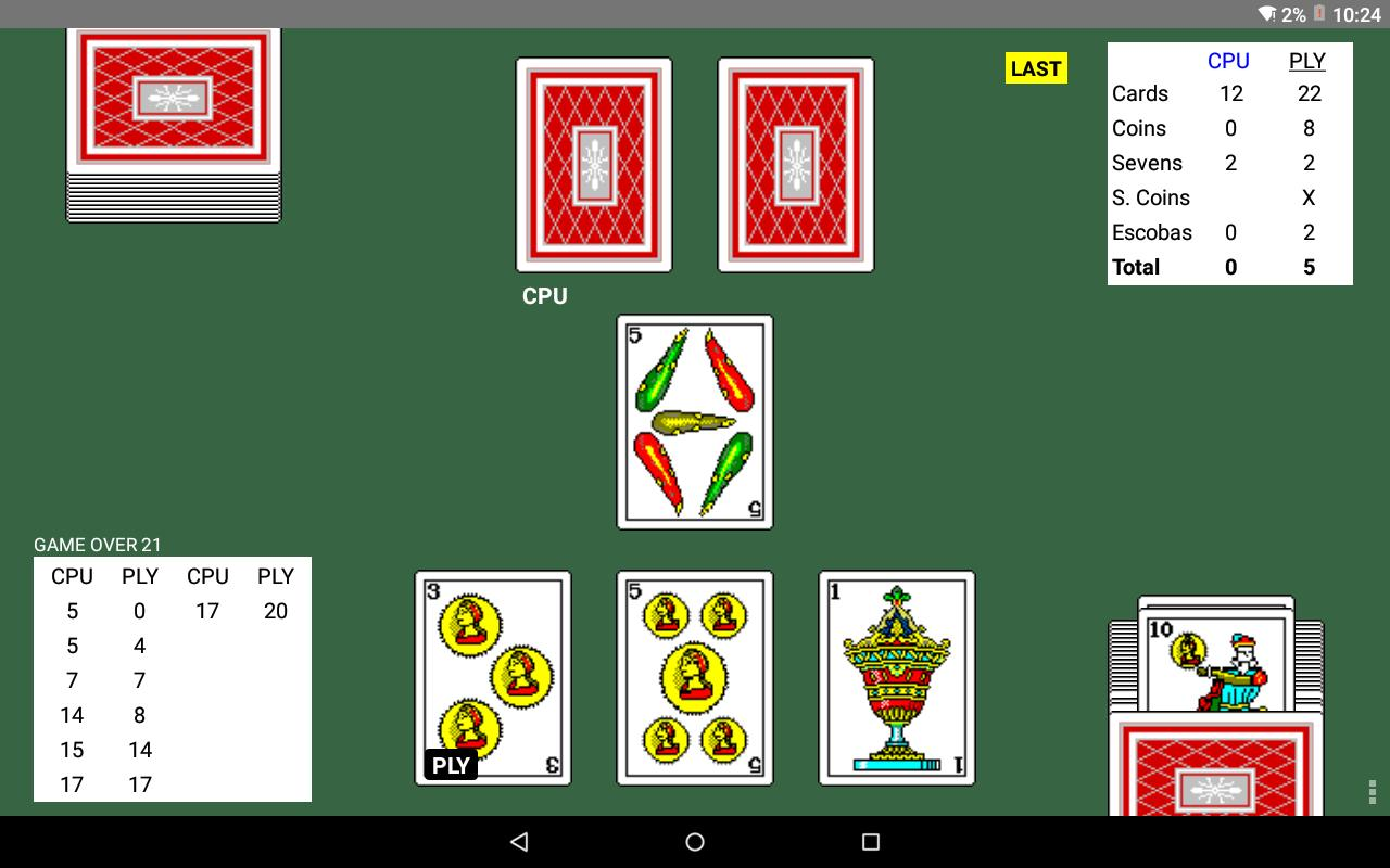 Escoba 2.204 Screenshot 11