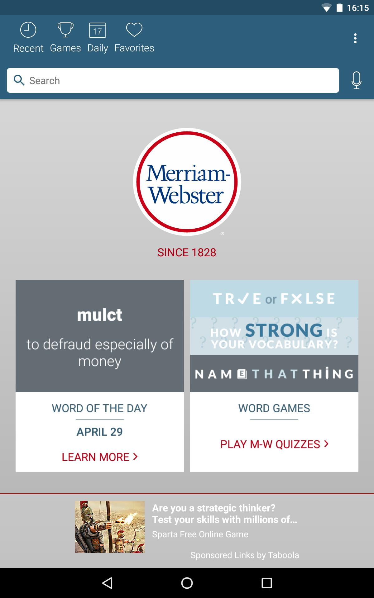Dictionary - Merriam-Webster 4.3.4 Screenshot 10