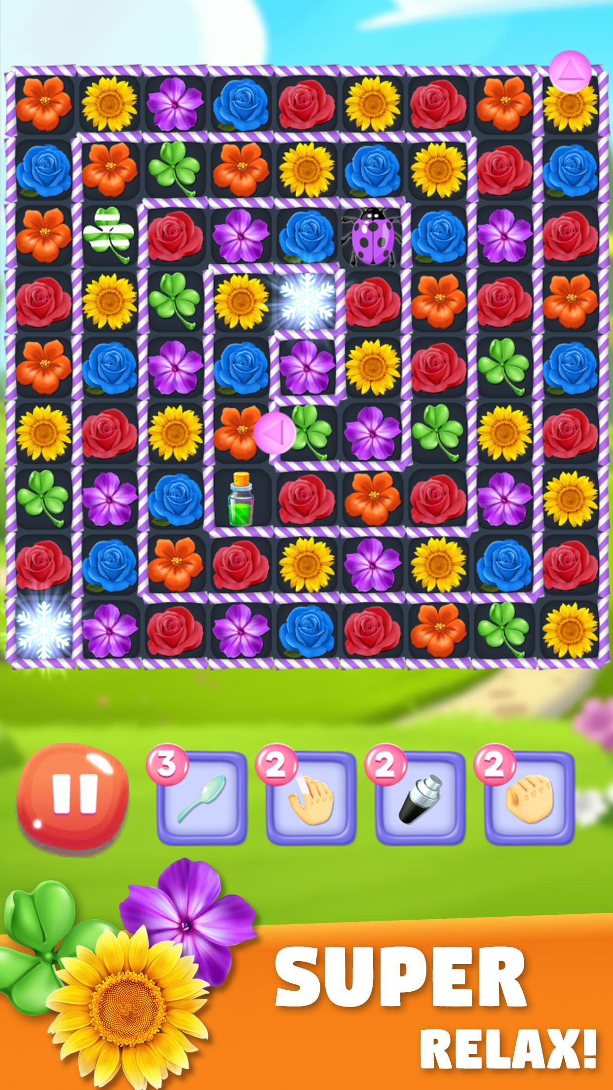 Blossom Bloom Flower Blast Match 3 Games 1.9 Screenshot 2