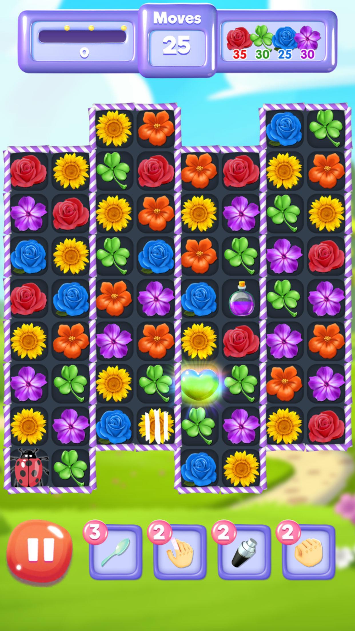 Blossom Bloom Flower Blast Match 3 Games 1.9 Screenshot 4