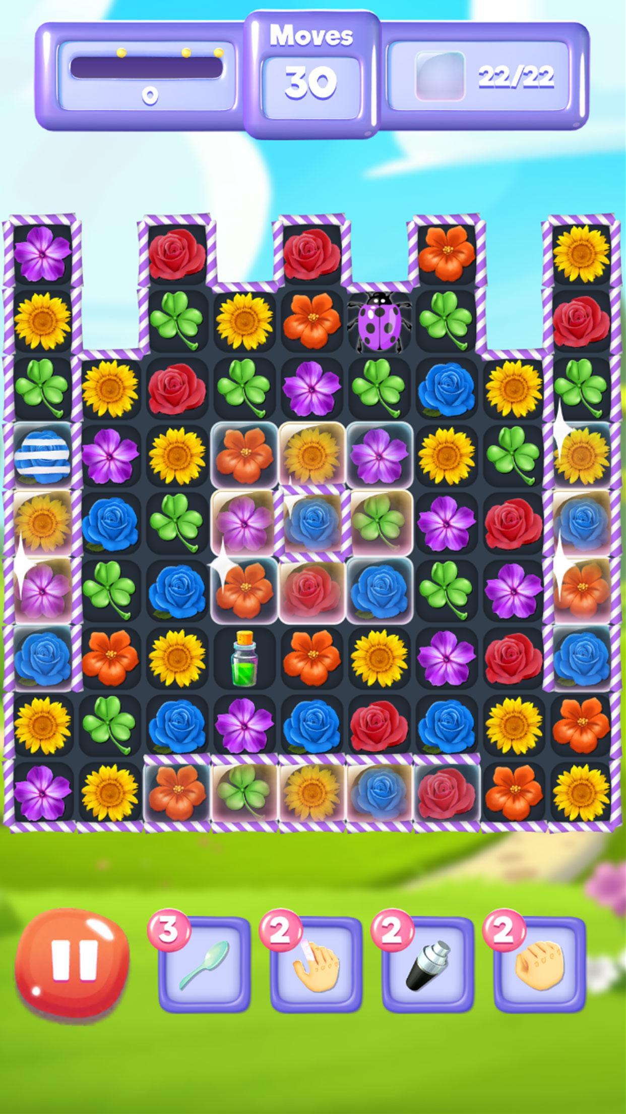 Blossom Bloom Flower Blast Match 3 Games 1.9 Screenshot 5