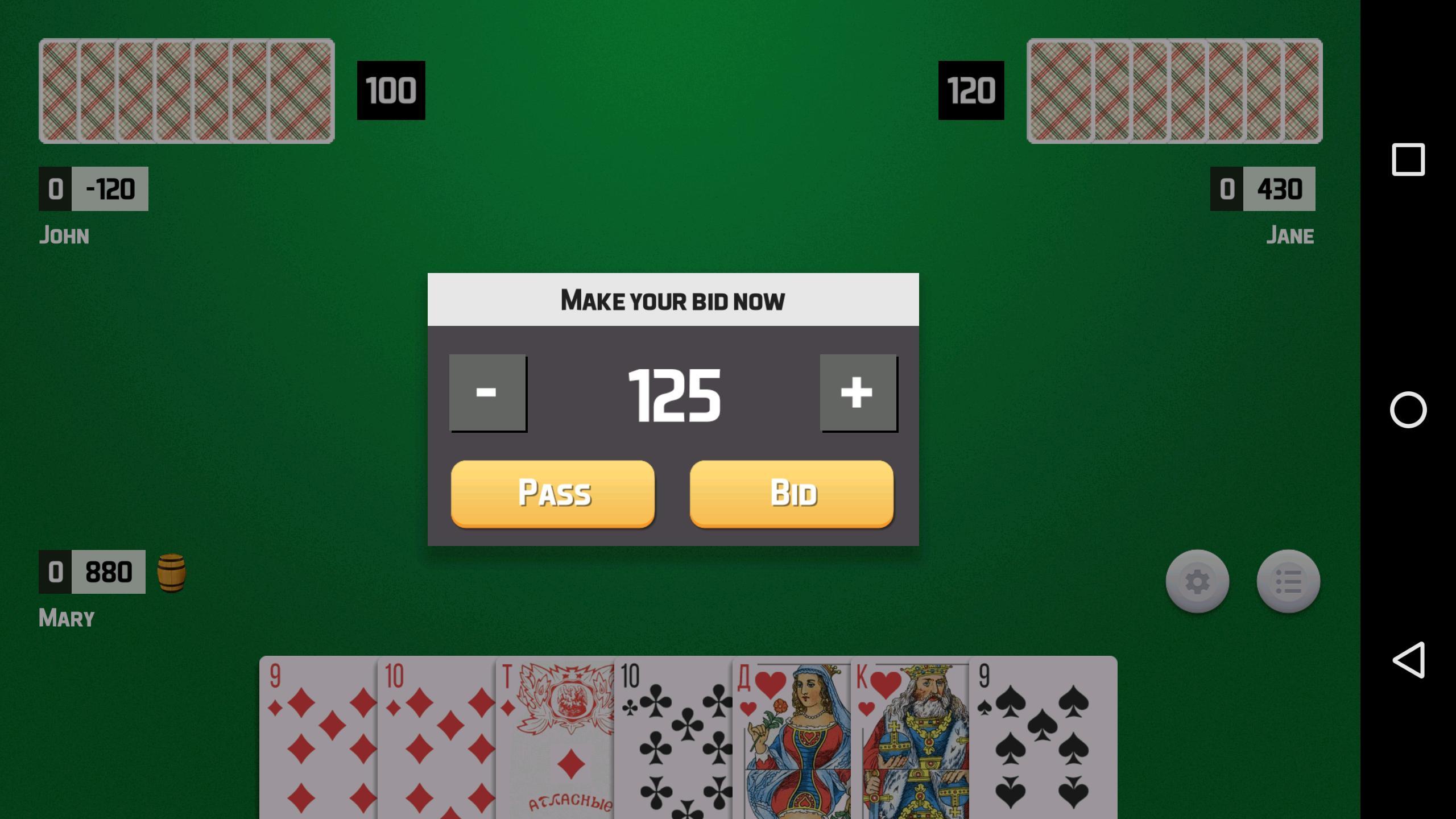 Thousand Card Game (1000) 1.59 Screenshot 6