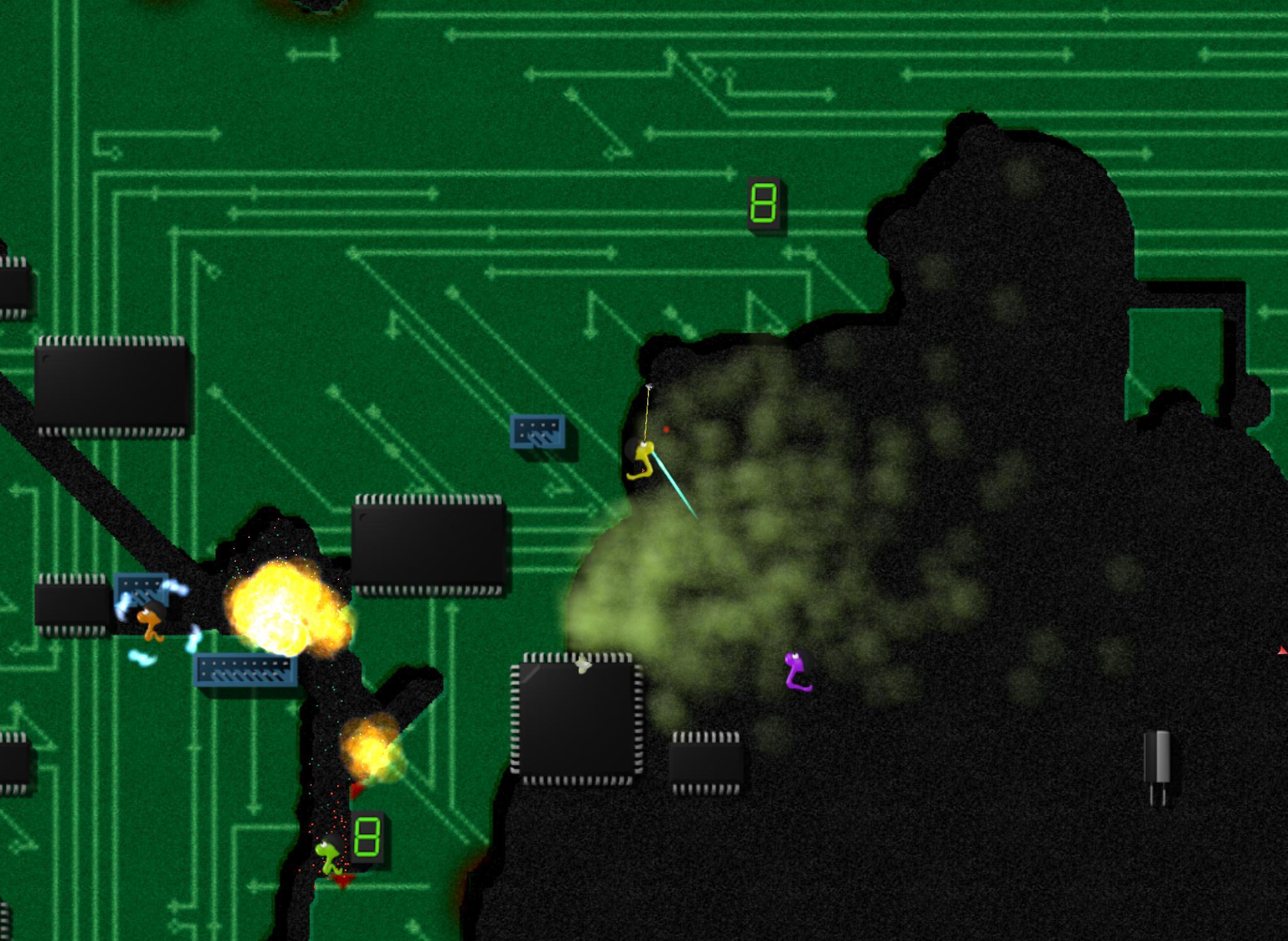Annelids Online battle 1.115.2 Screenshot 19