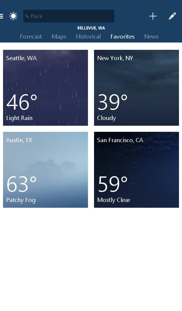 MSN Weather - Forecast & Maps 1.2.0 Screenshot 13