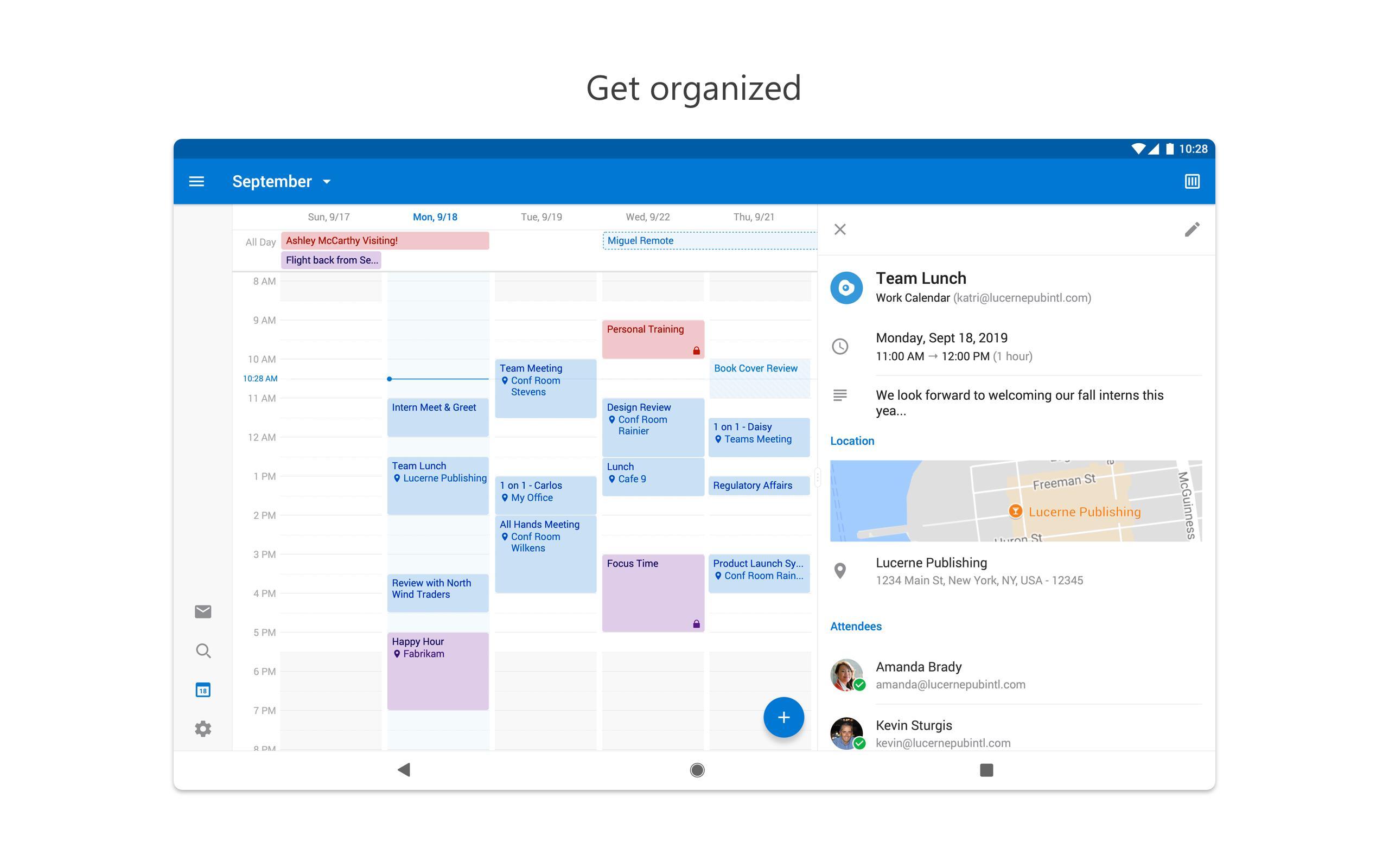 Microsoft Outlook 4.2045.1 Screenshot 10