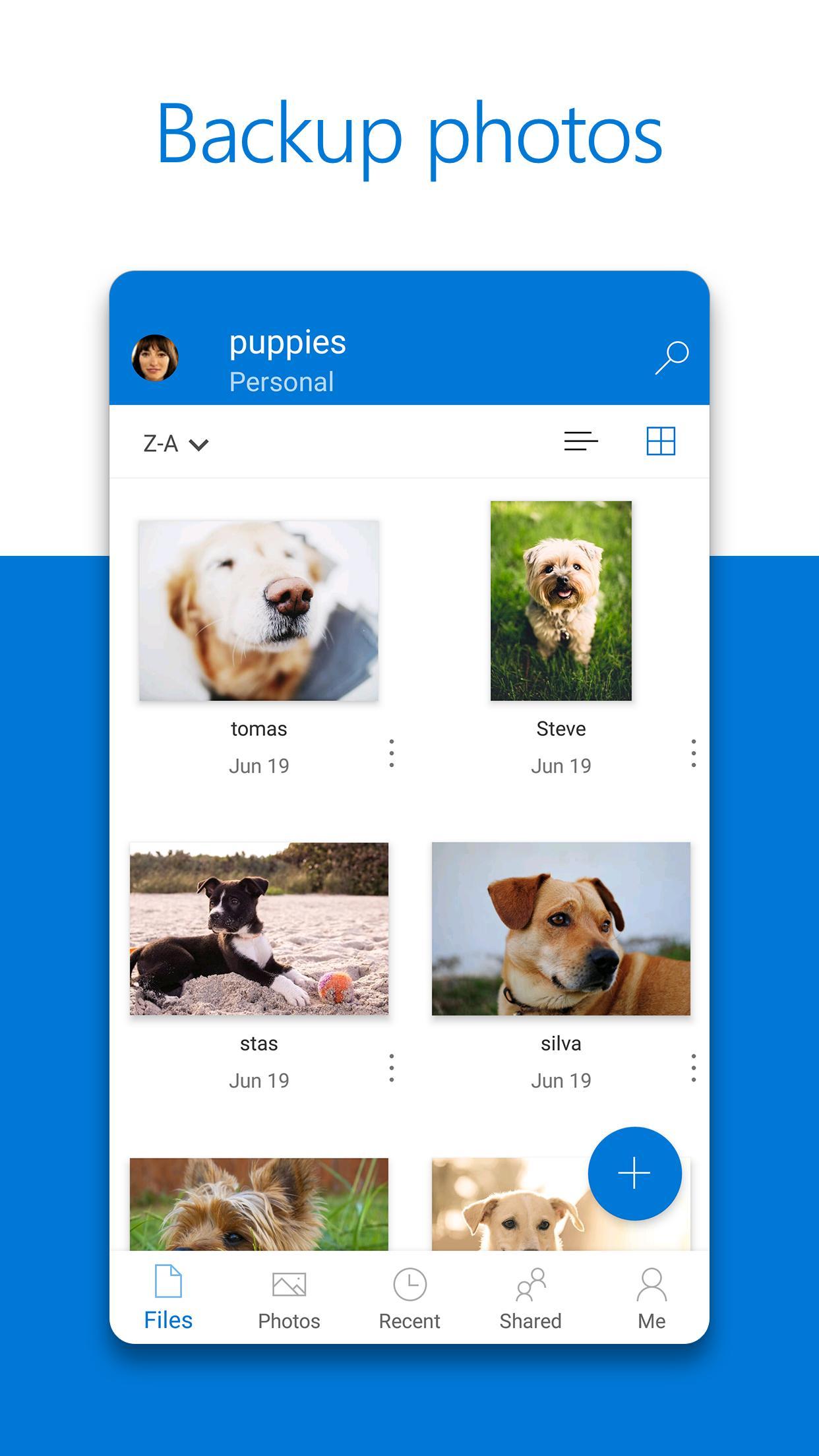 Microsoft OneDrive 6.18 Screenshot 1