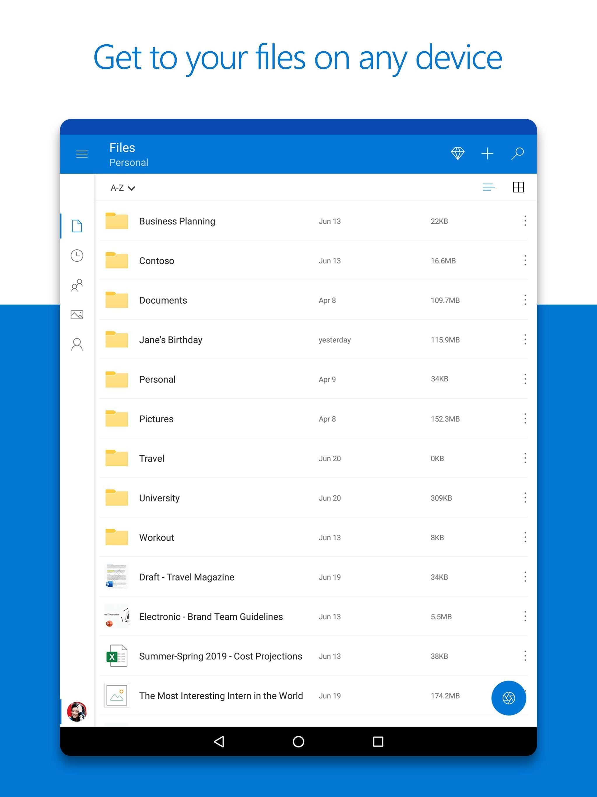 Microsoft OneDrive 6.18 Screenshot 8