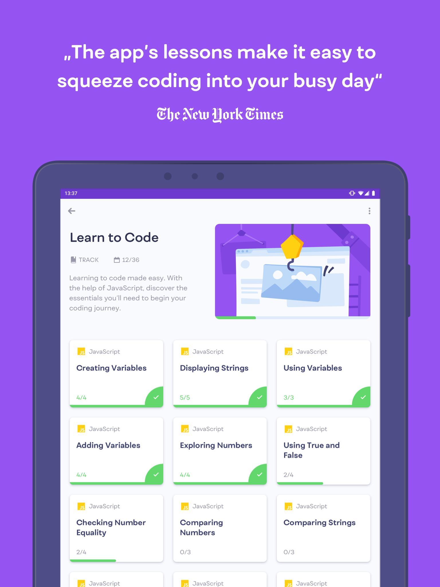 Mimo Learn to Code 2.0.2 Screenshot 13