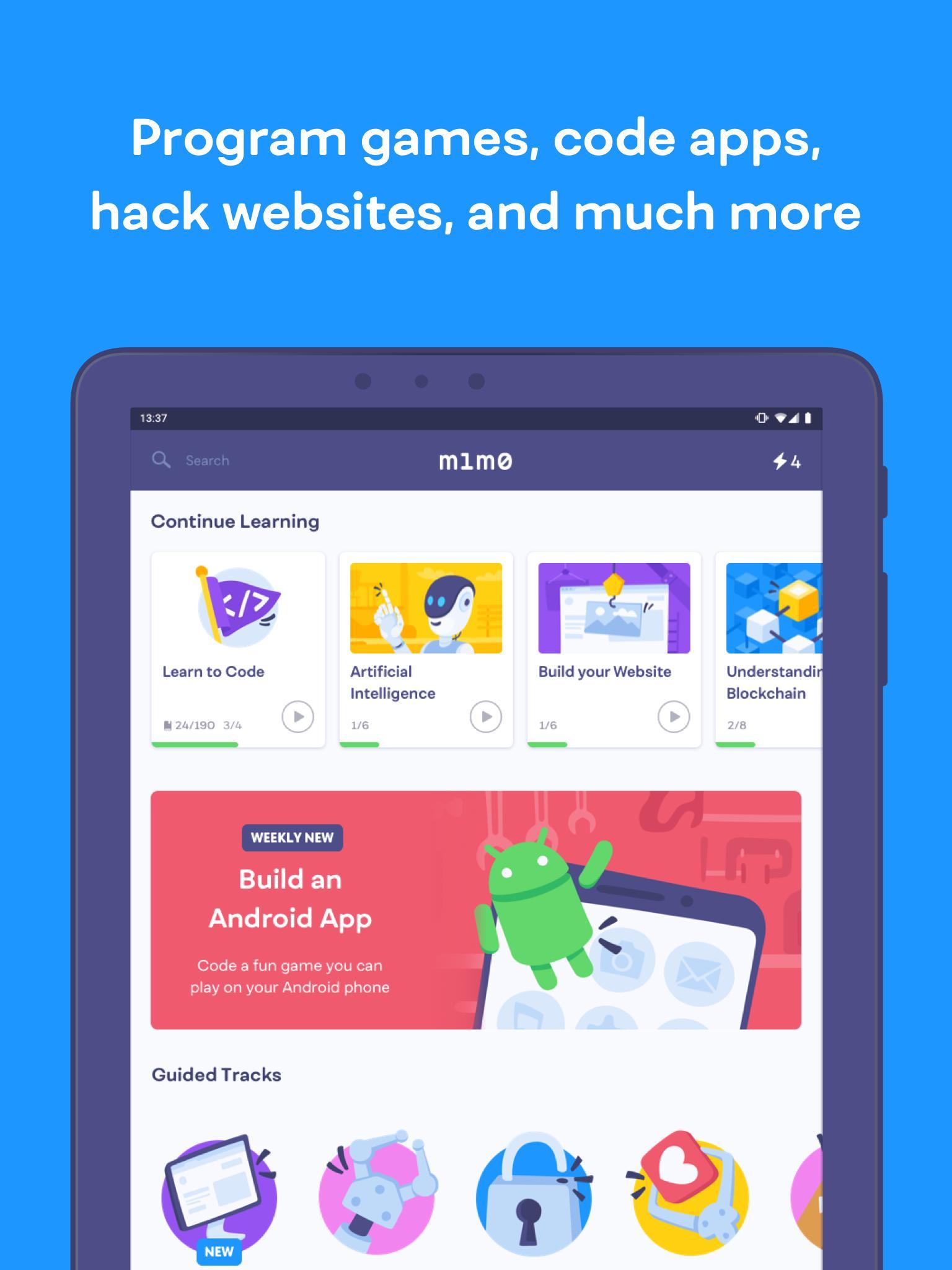 Mimo Learn to Code 2.0.2 Screenshot 8