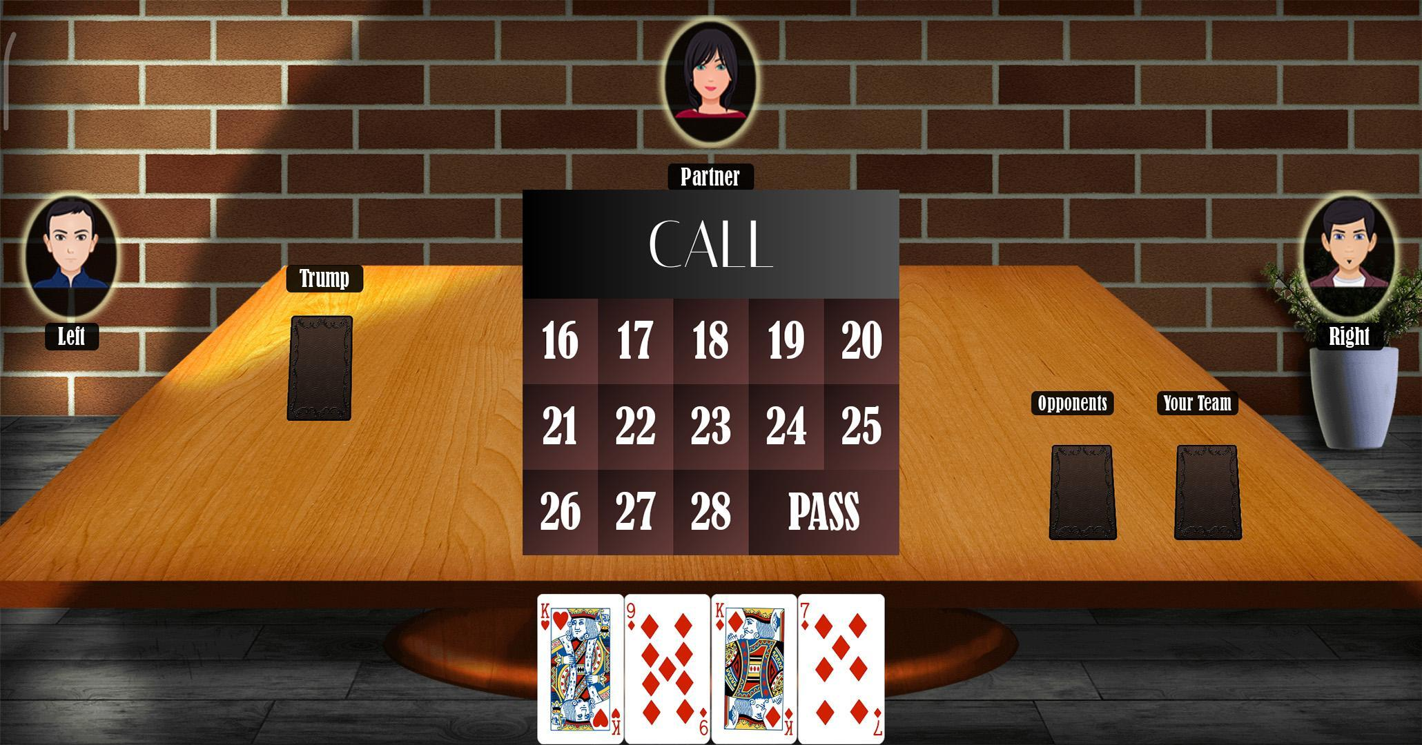 29 Card Game 4.0.10 Screenshot 2
