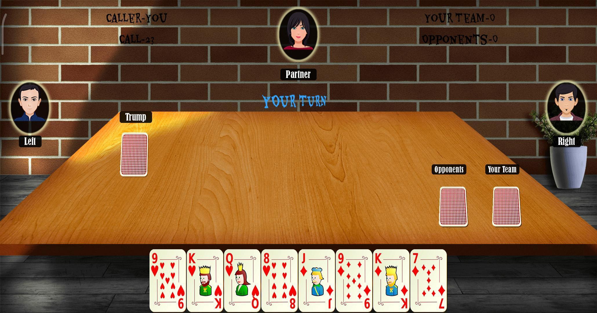 29 Card Game 4.0.10 Screenshot 3