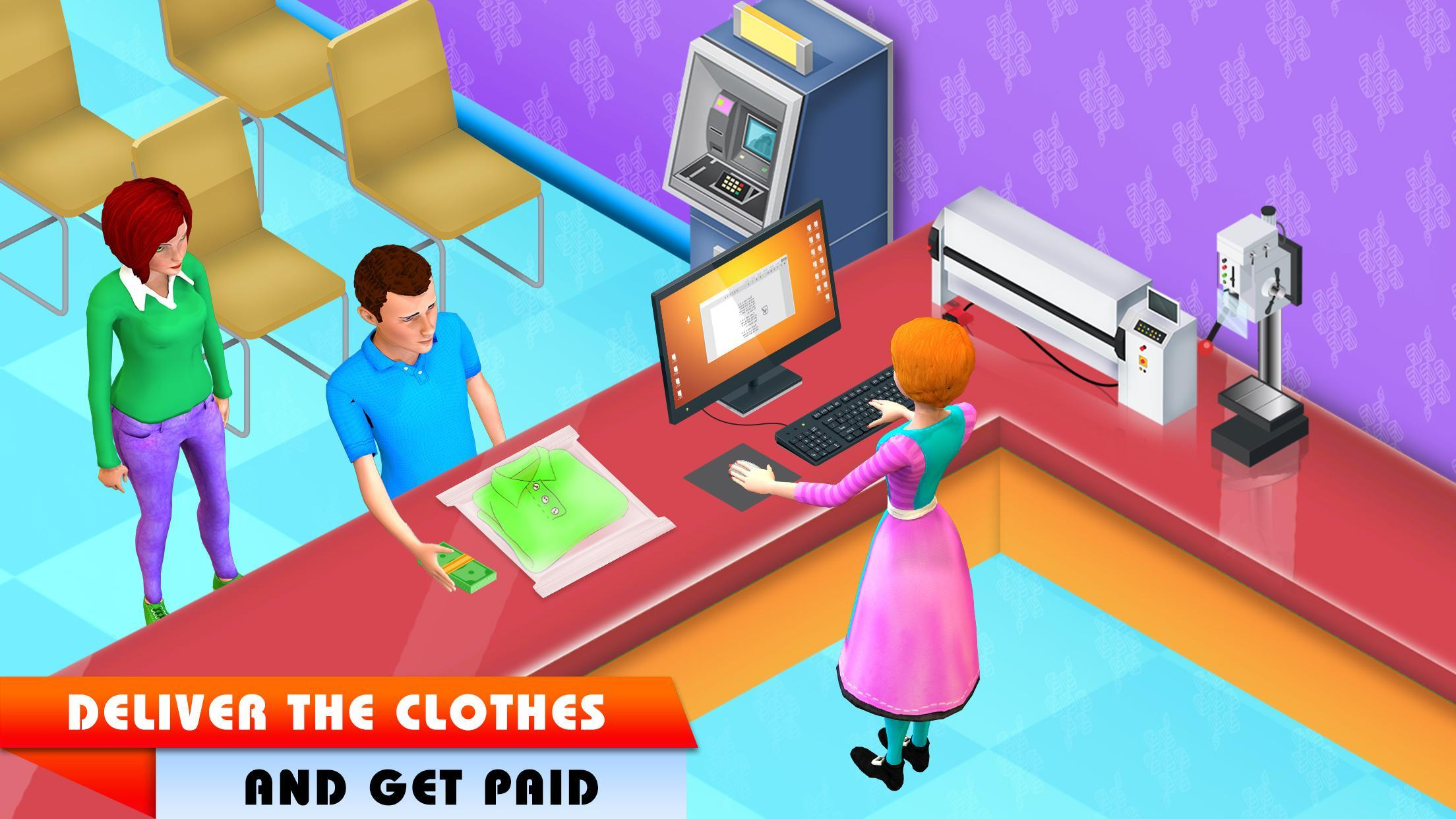 My Laundry Shop Manager: Dirty Clothes Washing 1.2 Screenshot 3