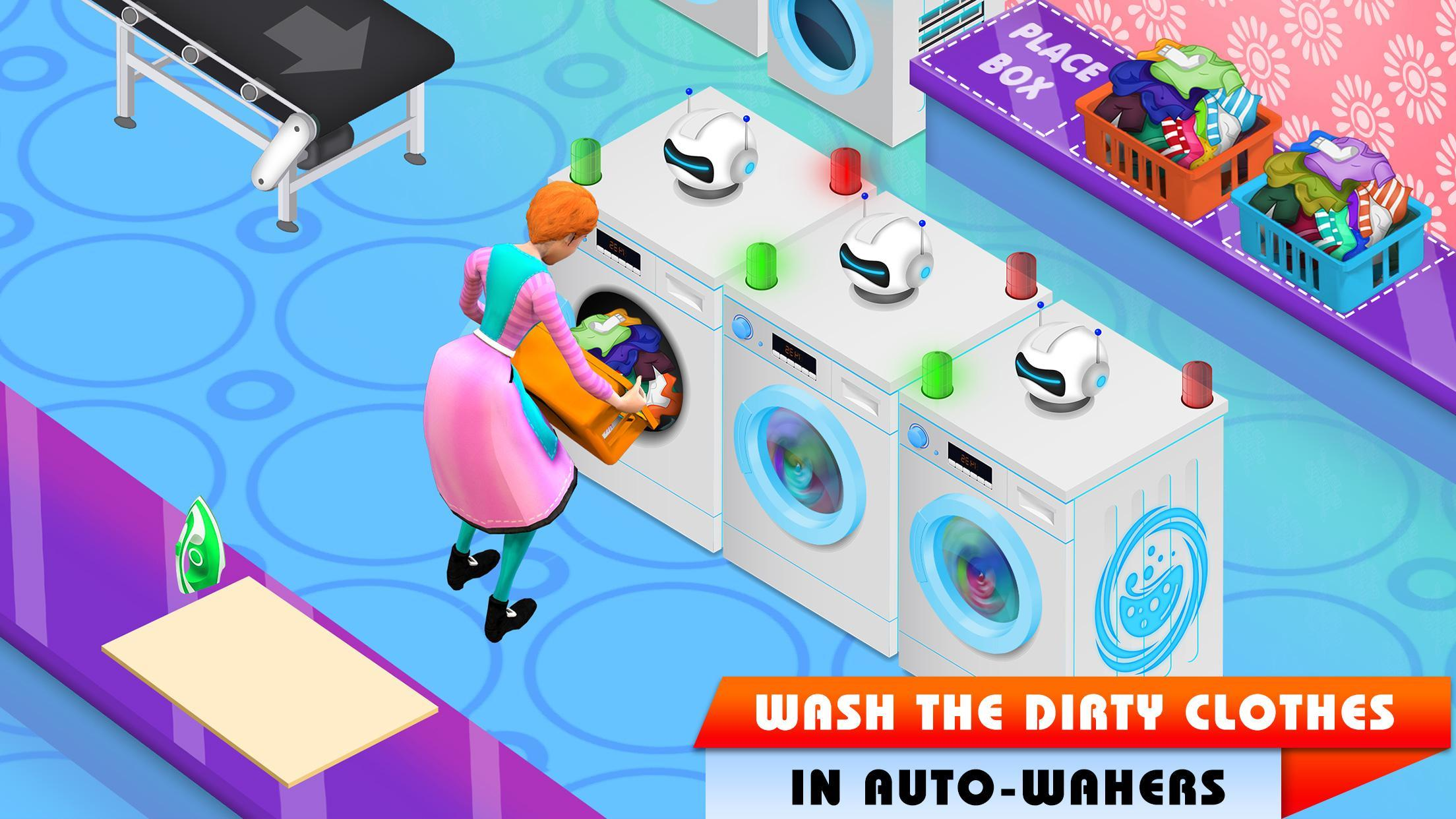 My Laundry Shop Manager: Dirty Clothes Washing 1.2 Screenshot 4