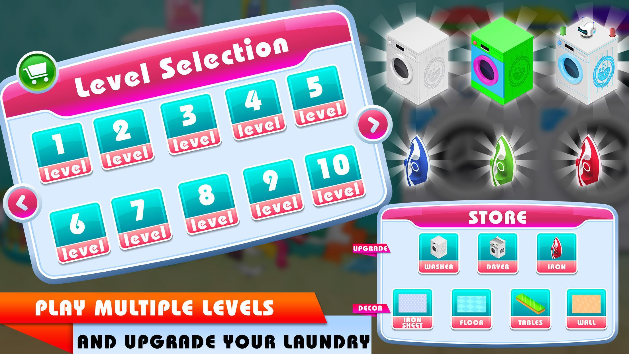 My Laundry Shop Manager: Dirty Clothes Washing 1.2 Screenshot 7