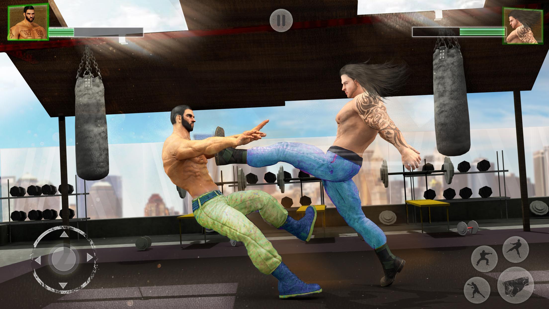 Bodybuilder Fighting Club 2019: Wrestling Games 1.1.4 Screenshot 1