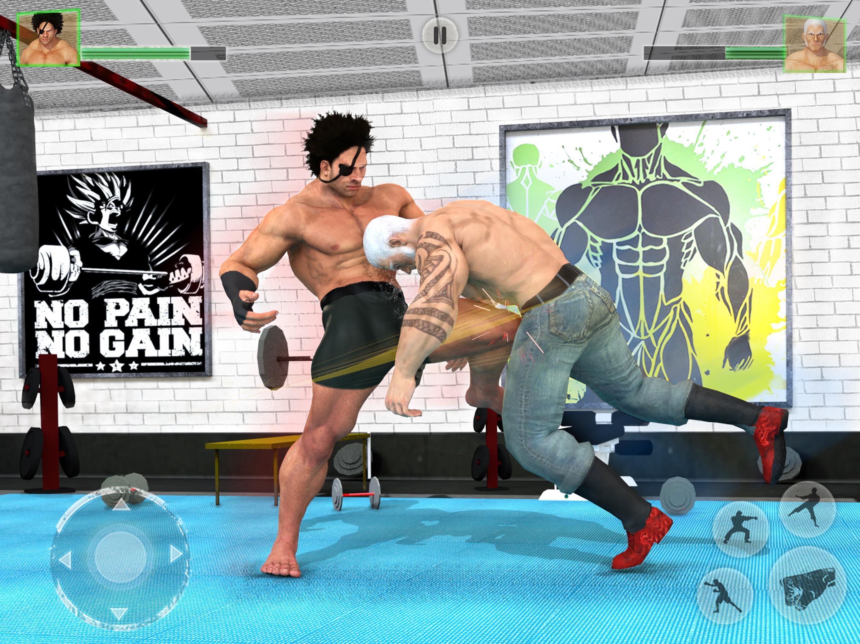 Bodybuilder Fighting Club 2019: Wrestling Games 1.1.4 Screenshot 11