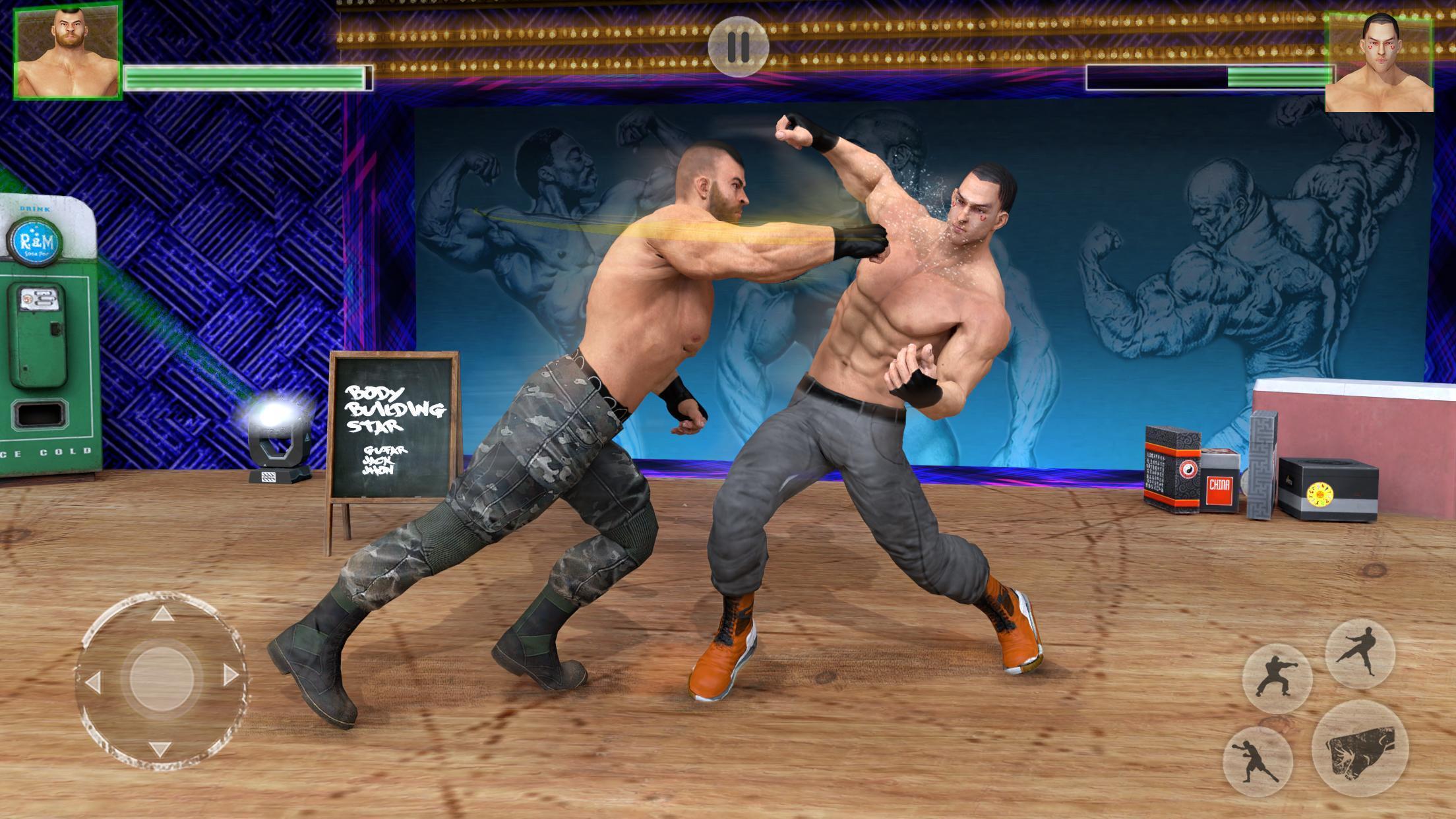 Bodybuilder Fighting Club 2019: Wrestling Games 1.1.4 Screenshot 2