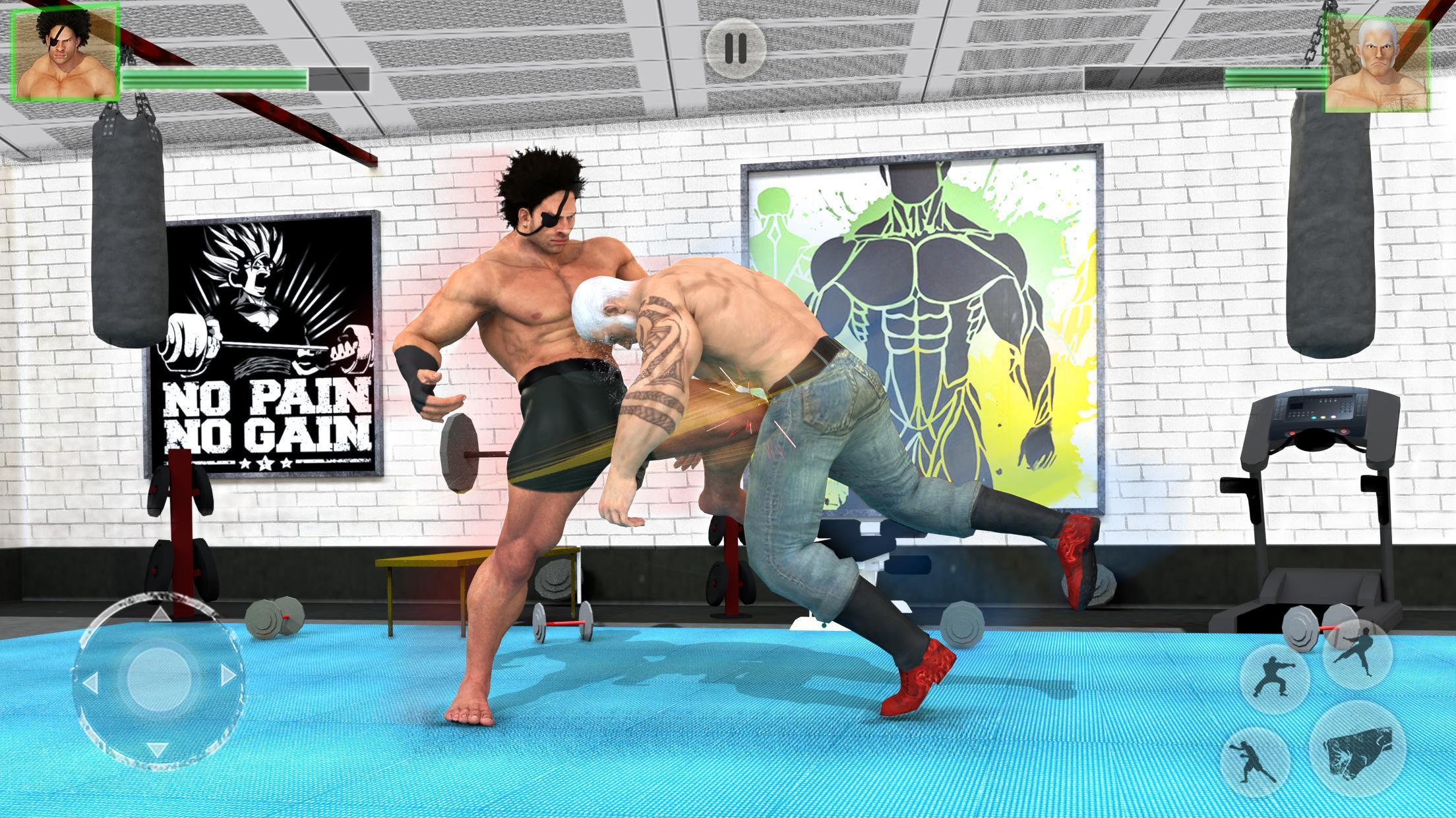 Bodybuilder Fighting Club 2019: Wrestling Games 1.1.4 Screenshot 3
