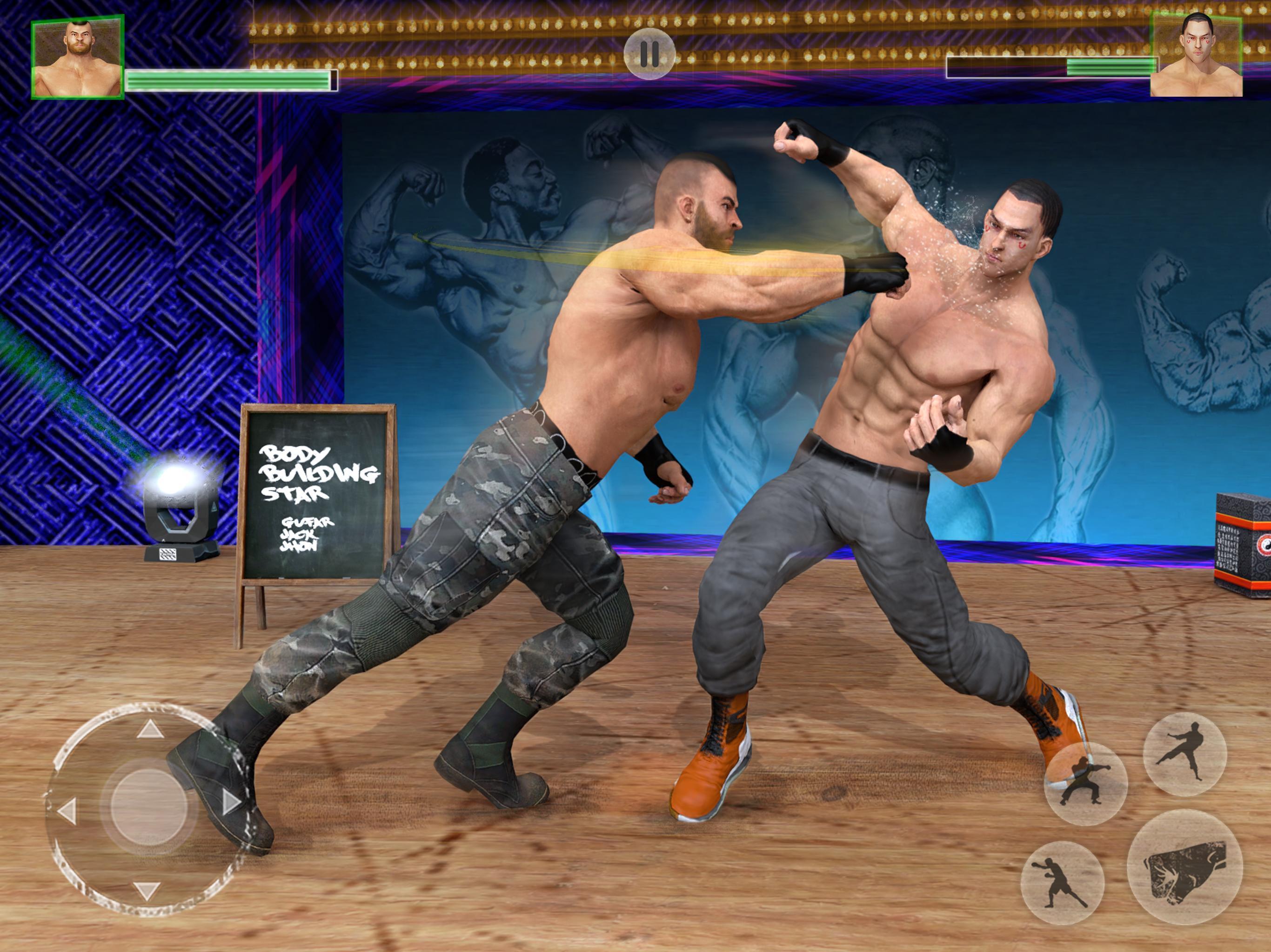 Bodybuilder Fighting Club 2019: Wrestling Games 1.1.4 Screenshot 6