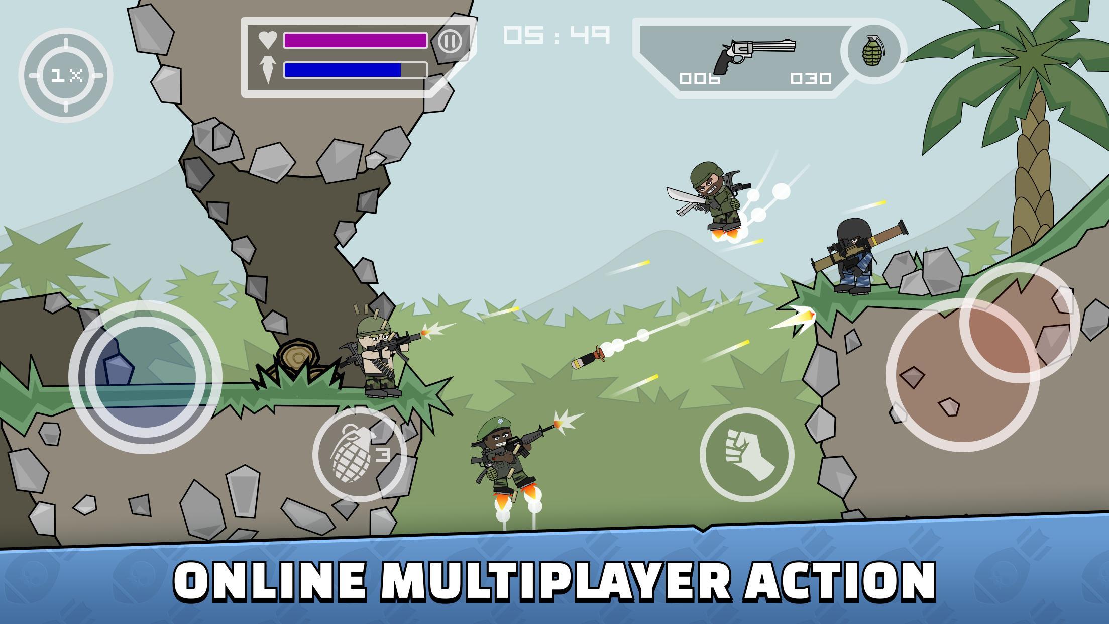 Mini Militia Doodle Army 2 5.3.2 Screenshot 1
