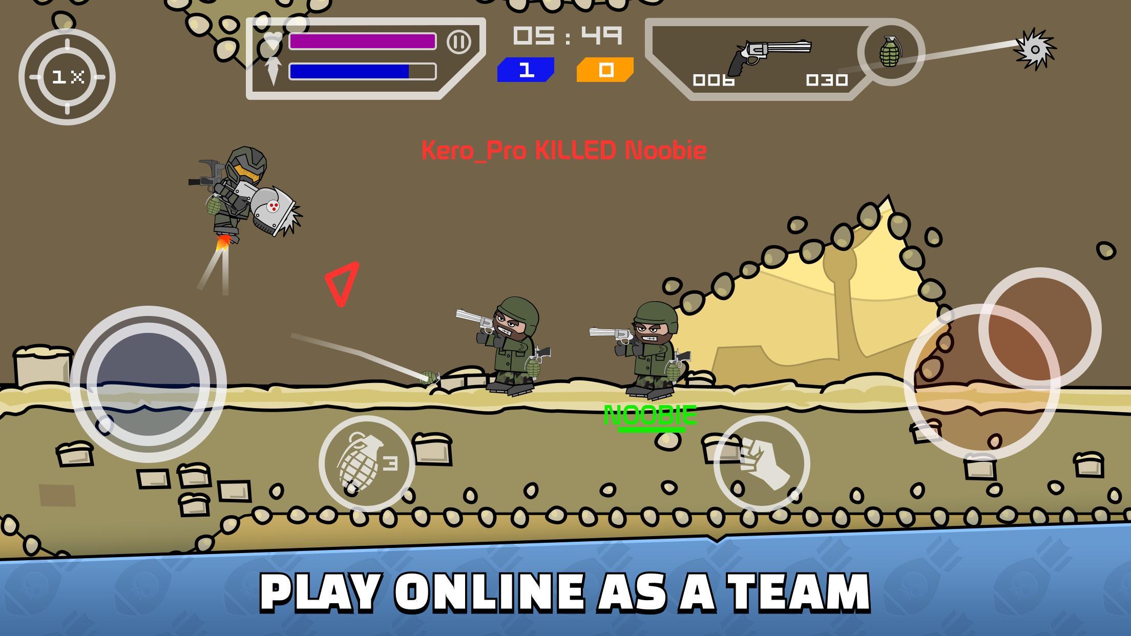 Mini Militia Doodle Army 2 5.3.2 Screenshot 2