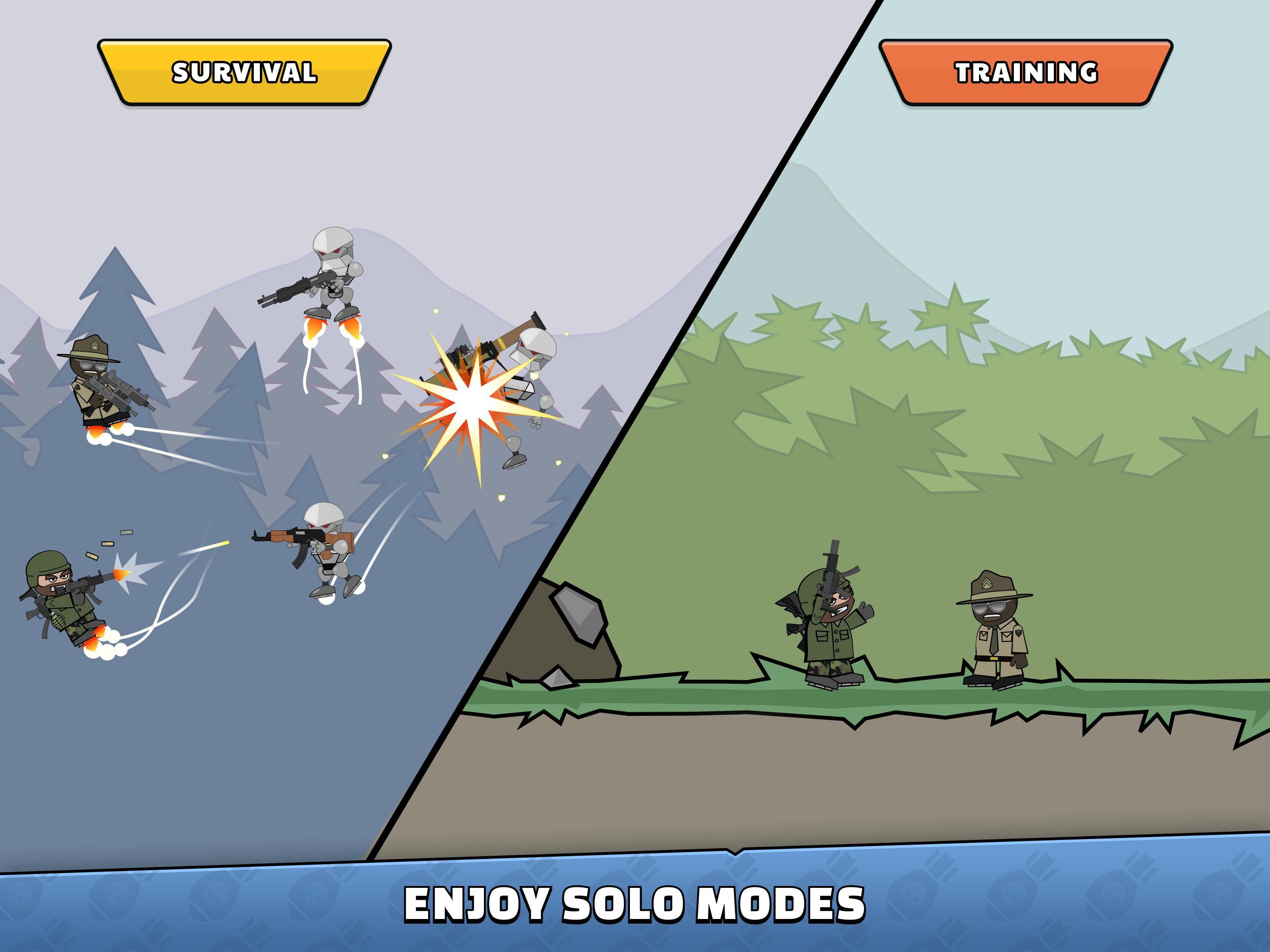 Mini Militia Doodle Army 2 5.3.2 Screenshot 21