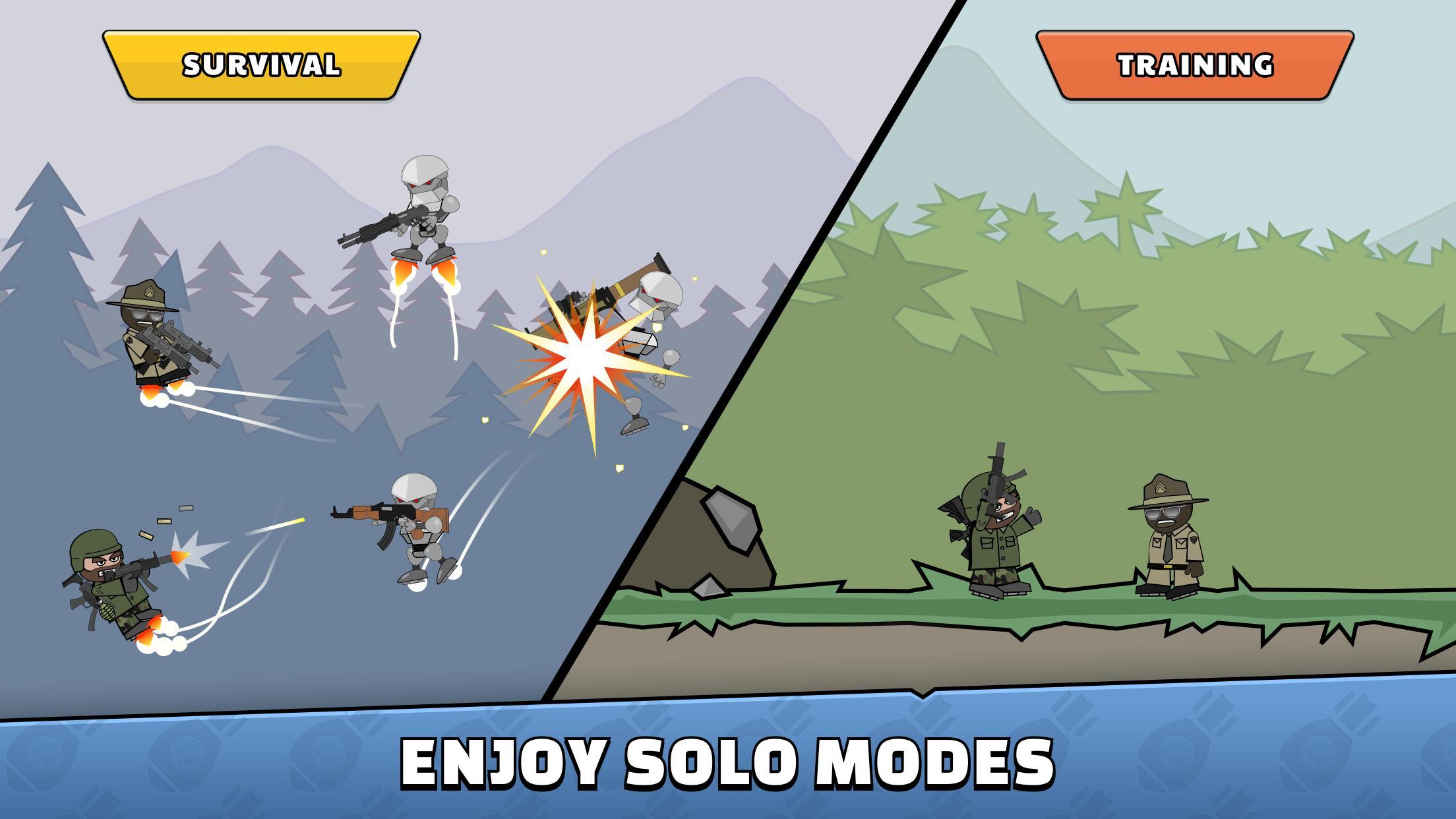 Mini Militia Doodle Army 2 5.3.2 Screenshot 7