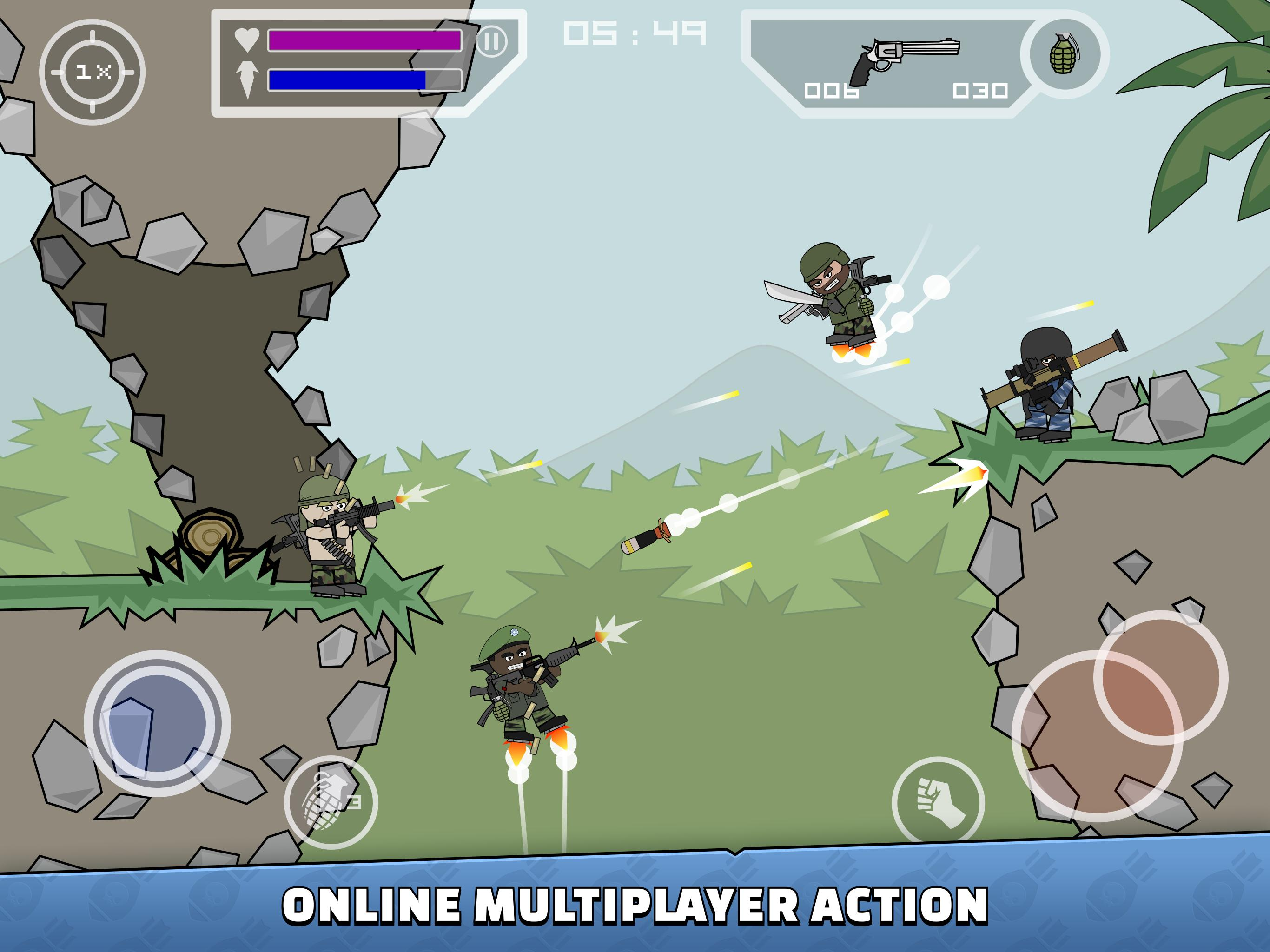 Mini Militia Doodle Army 2 5.3.2 Screenshot 8